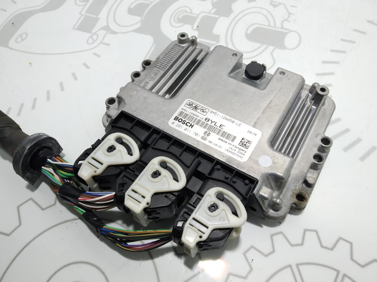 Блок управления двигателем Ford Focus 1.6 TDCI 2007 (б/у)