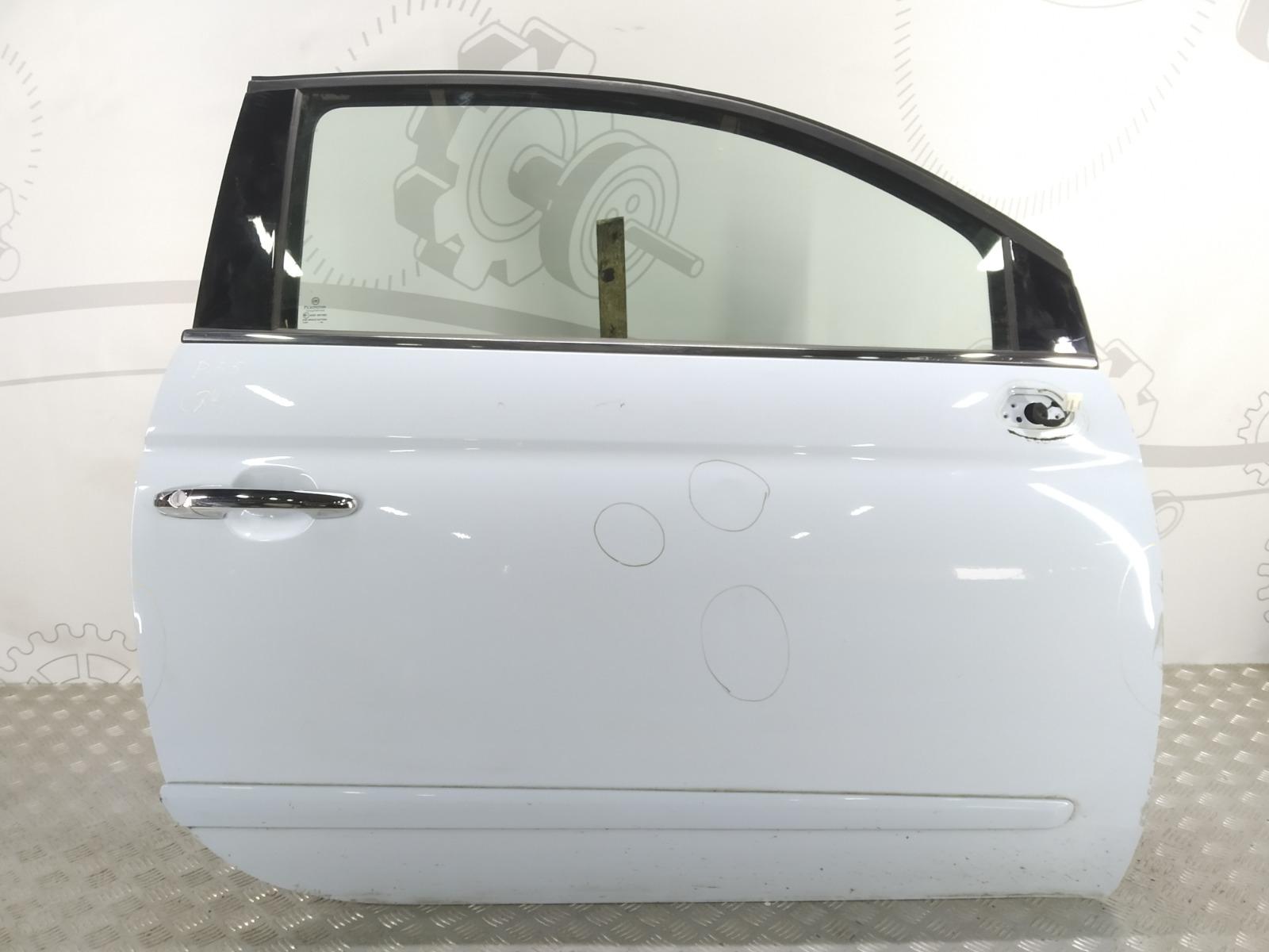 Дверь передняя правая Fiat 500 1.2 I 2009 (б/у)
