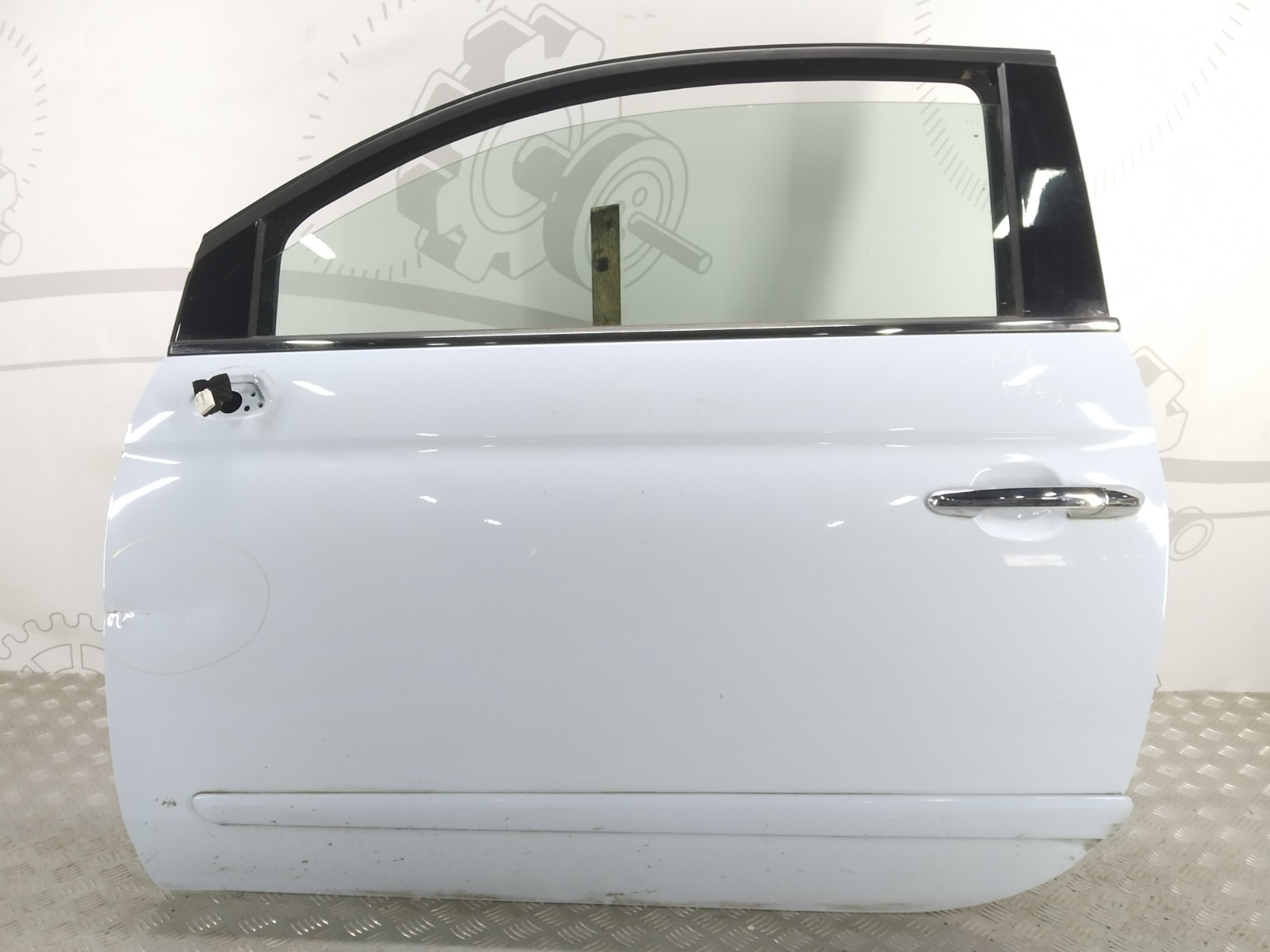 Дверь передняя левая Fiat 500 1.2 I 2009 (б/у)