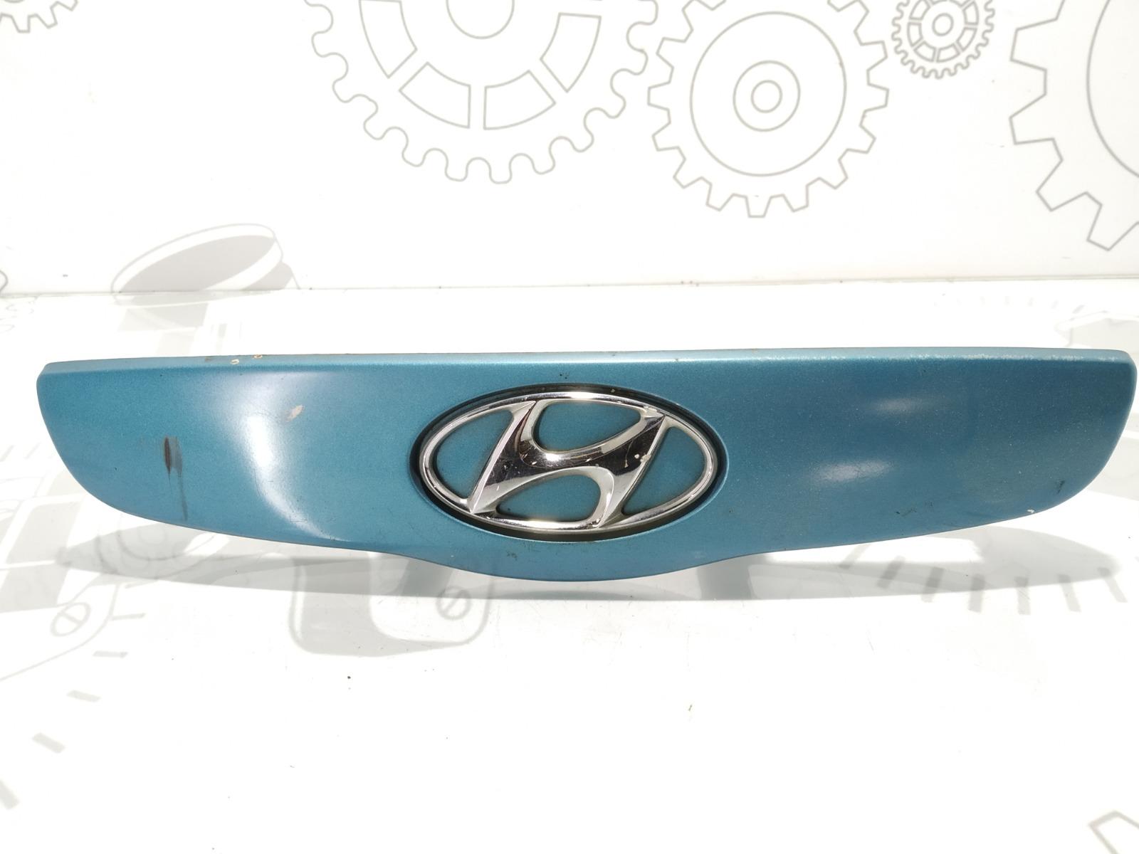 Накладка подсветки номера Hyundai Getz 1.3 I 2004 (б/у)