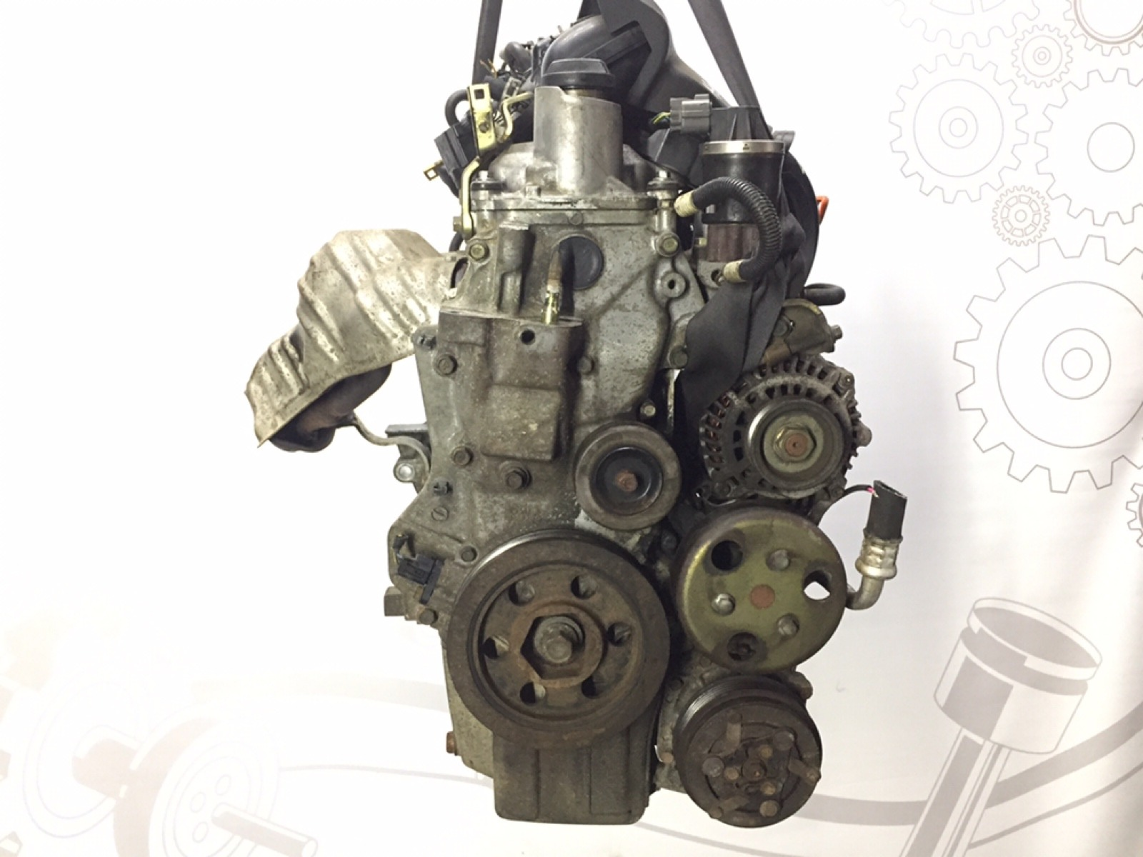 Двигатель бензиновый Honda Jazz 1.3 I 2003 (б/у)
