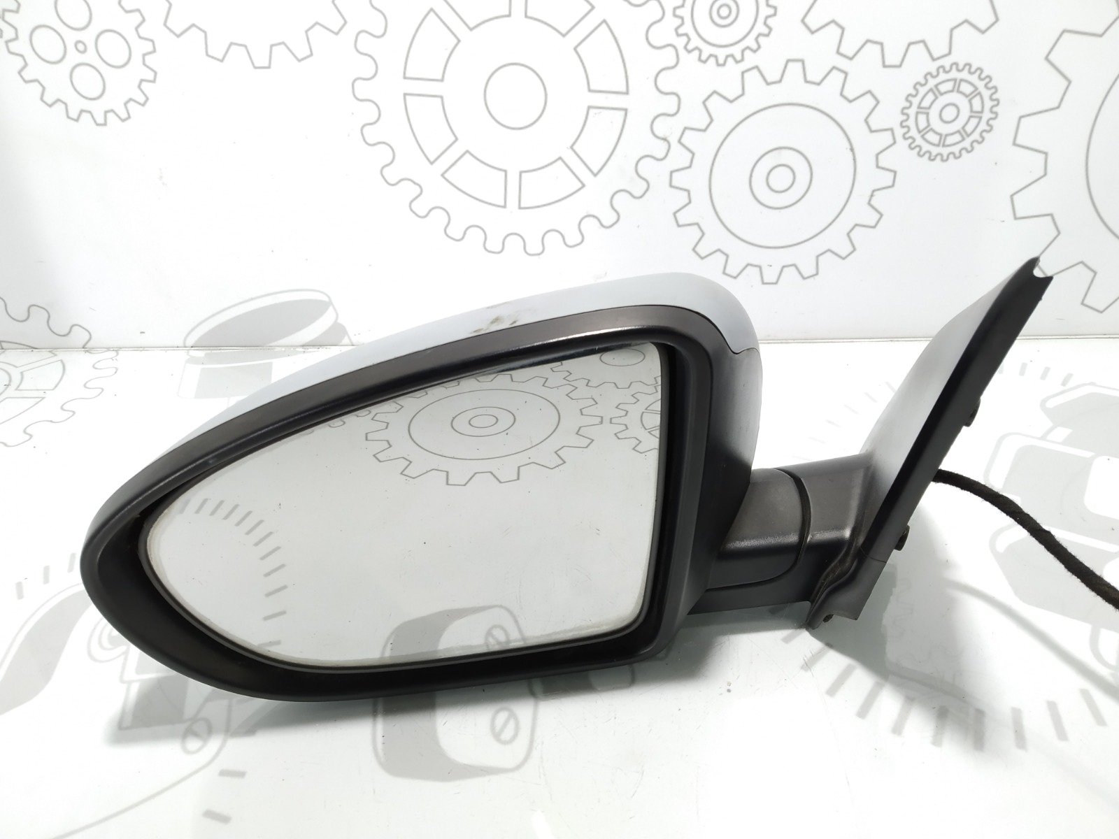 Зеркало наружное левое Nissan Qashqai 2.0 DCI 2008 (б/у)