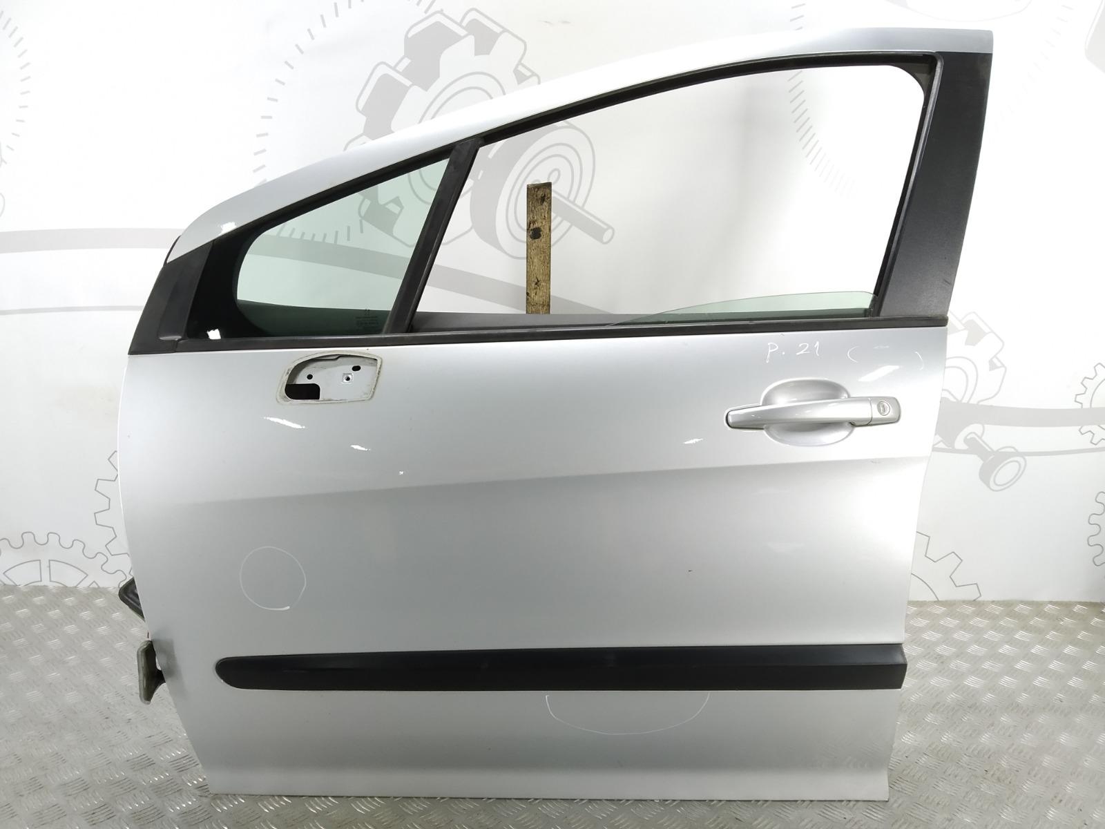 Дверь передняя левая Peugeot 308 T7 1.4 I 2009 (б/у)