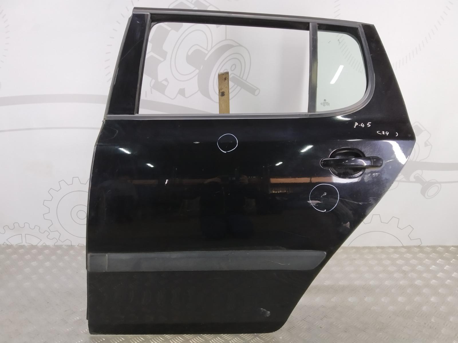 Дверь задняя левая Skoda Fabia 1.4 TDI 2007 (б/у)