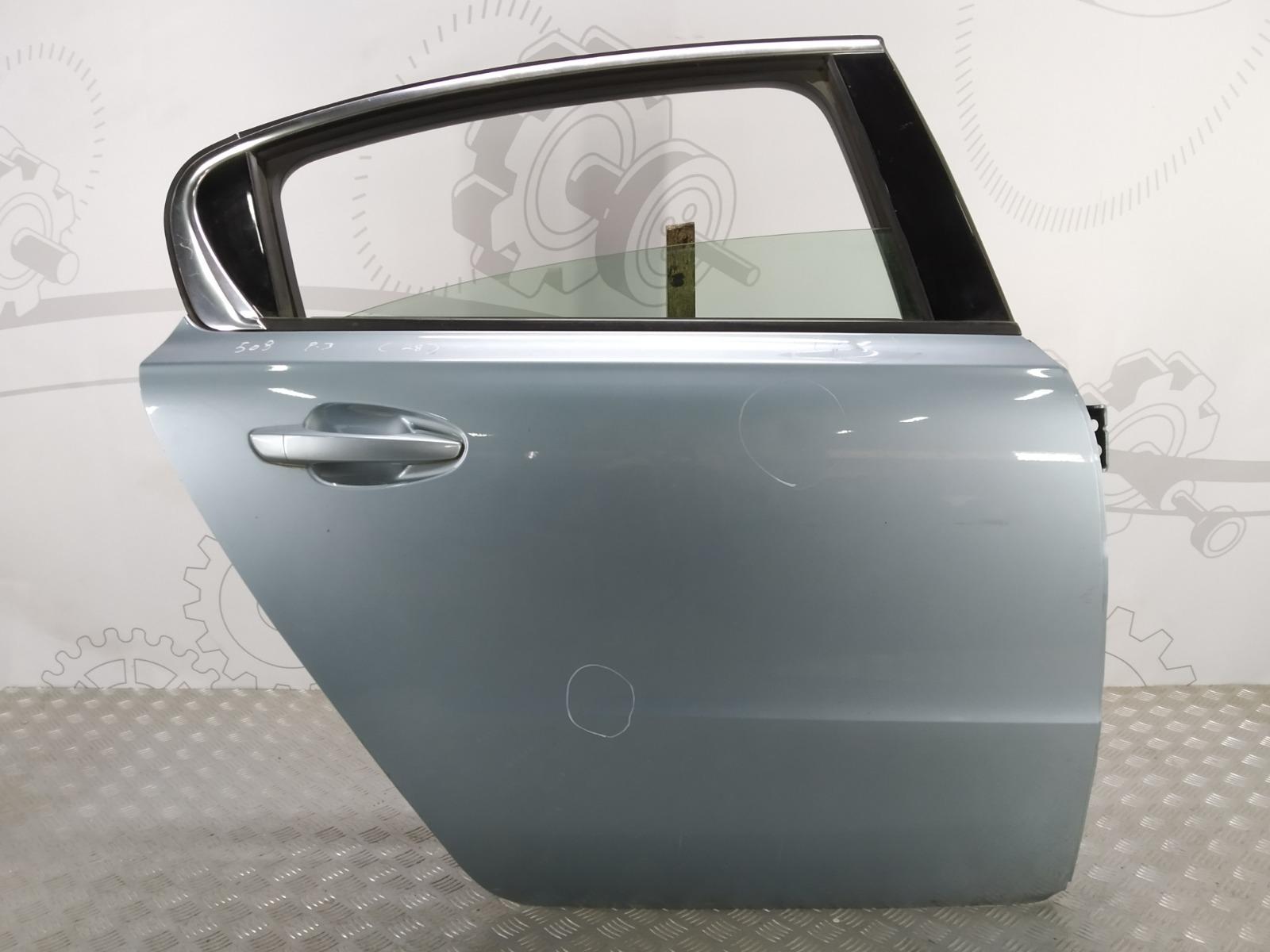 Дверь задняя правая Peugeot 508 1.6 HDI 2013 (б/у)