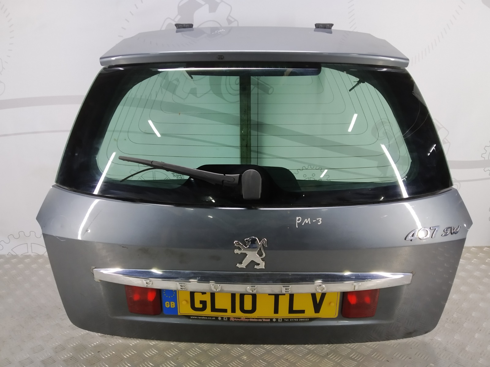 Крышка багажника (дверь 3-5) Peugeot 407 2.0 HDI 2010 (б/у)