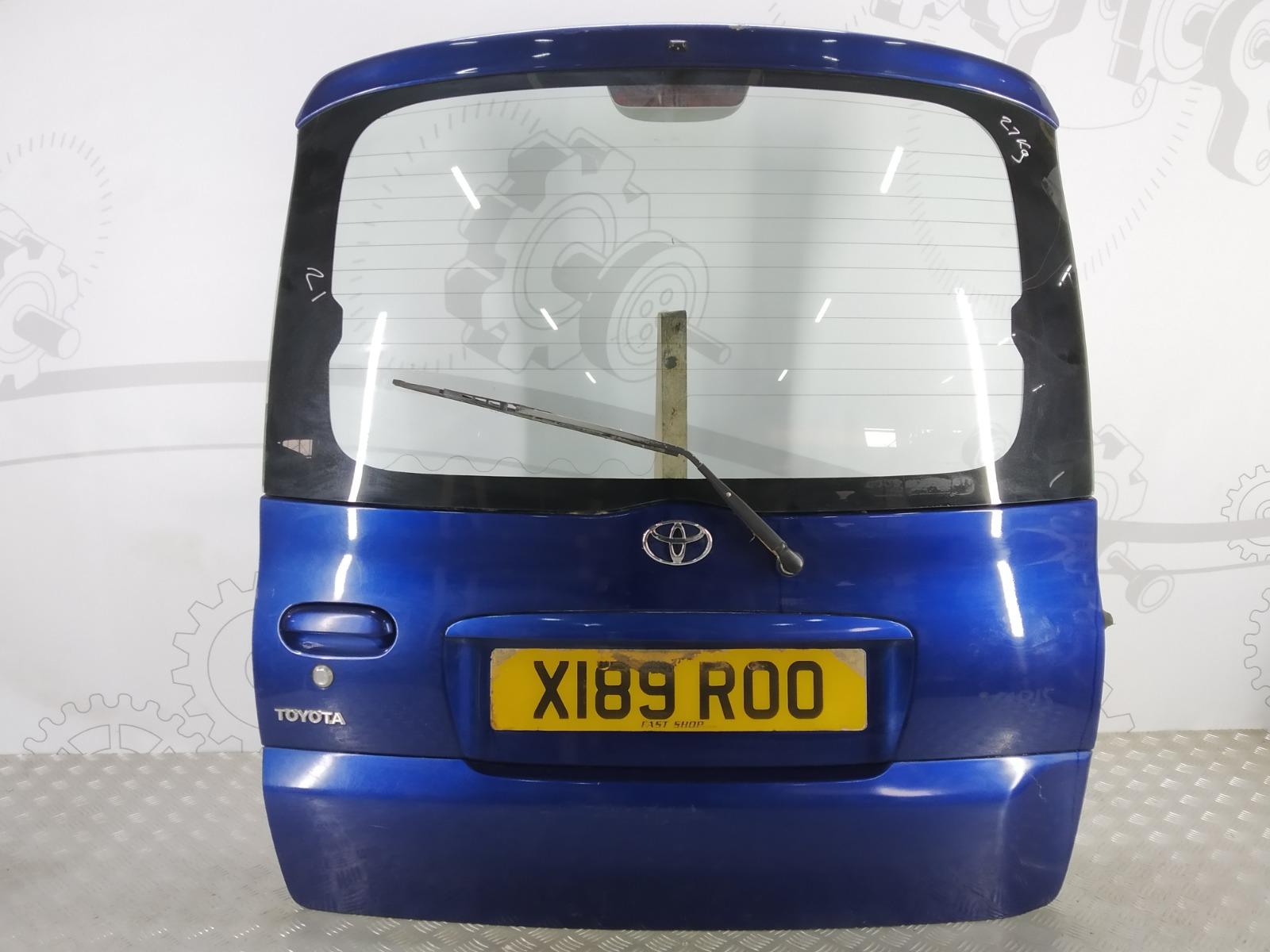 Крышка багажника (дверь 3-5) Toyota Yaris Verso 1.3 I 2000 (б/у)