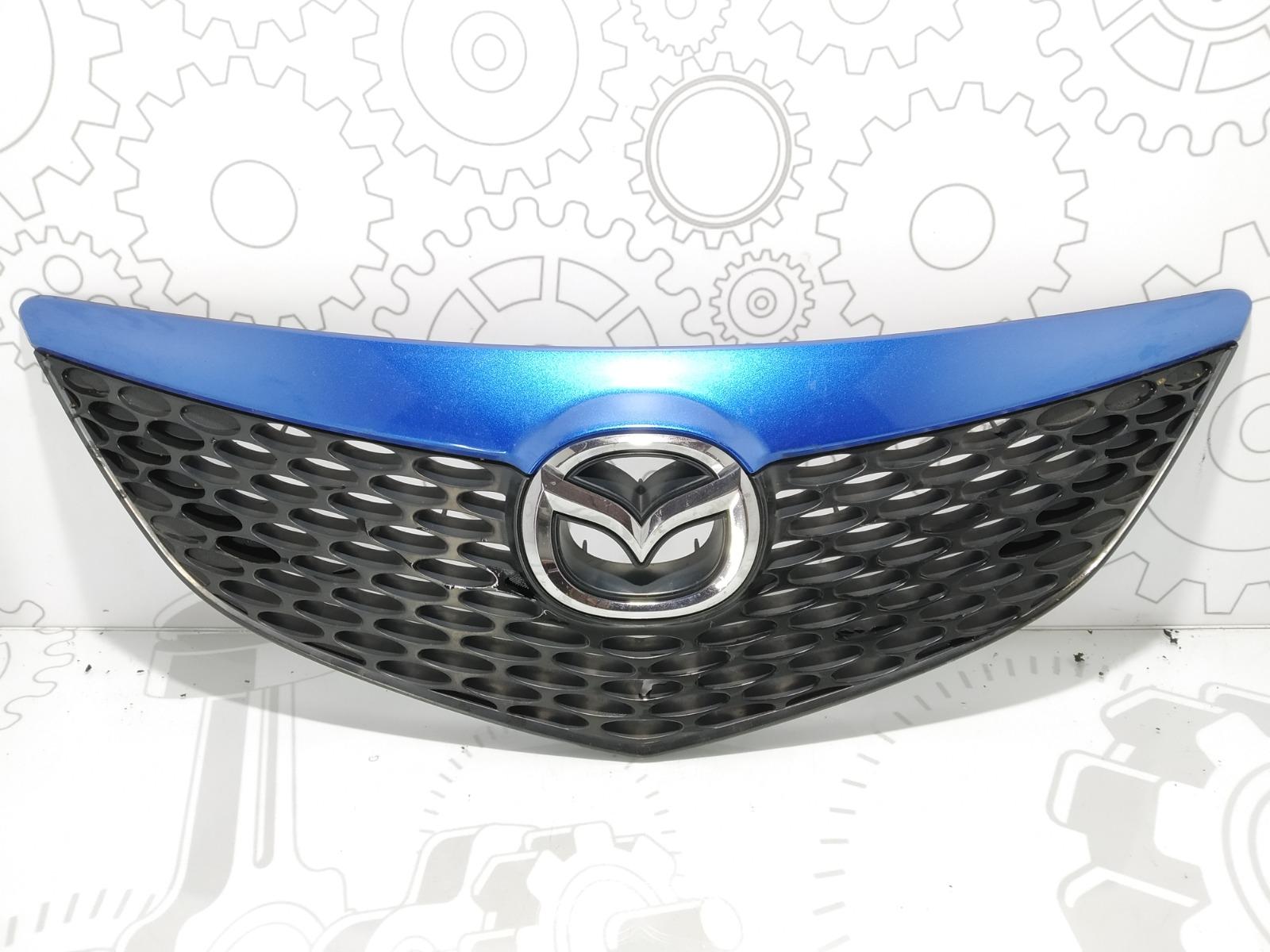 Решетка радиатора Mazda 3 BK 1.6 I 2005 (б/у)