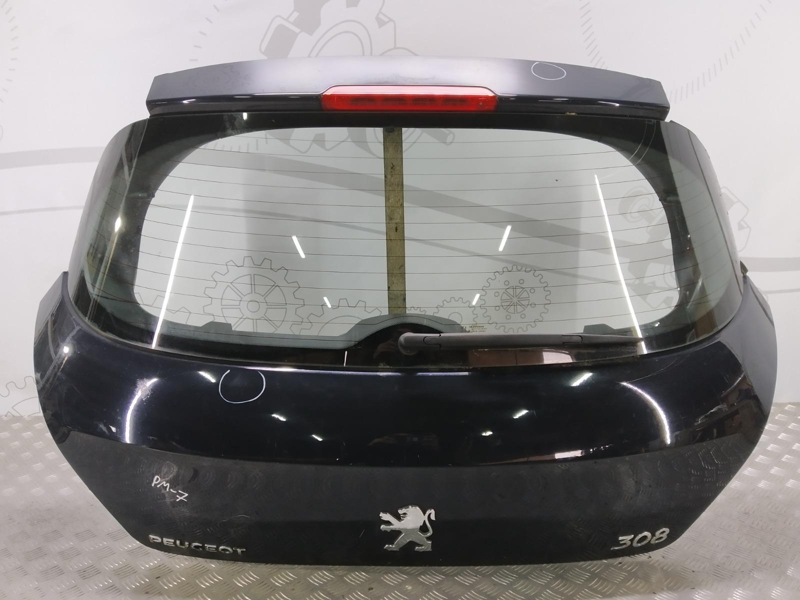 Крышка багажника (дверь 3-5) Peugeot 308 T7 1.6 HDI 2008 (б/у)