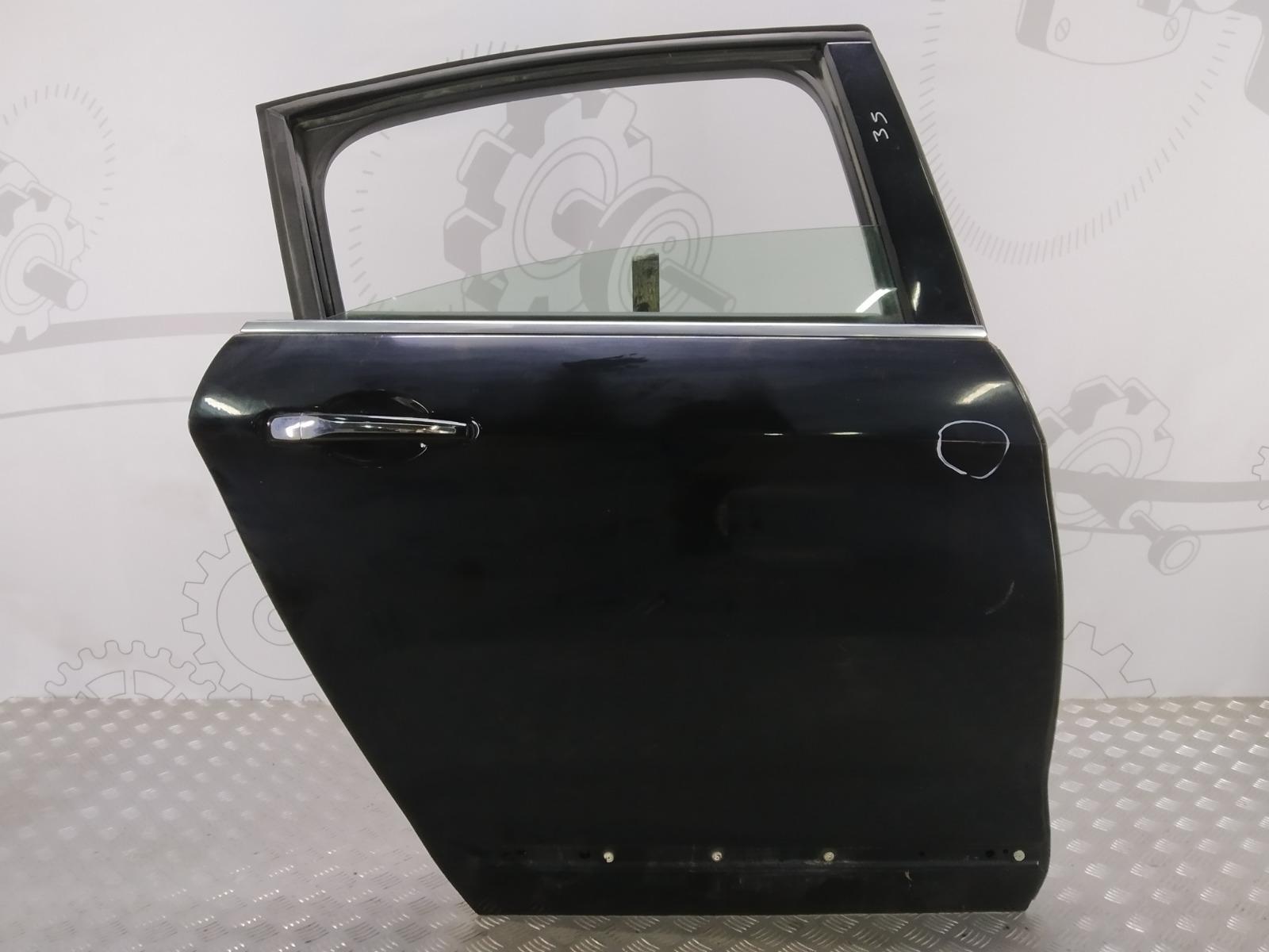 Дверь задняя правая Citroen C5 2.0 HDI 2009 (б/у)