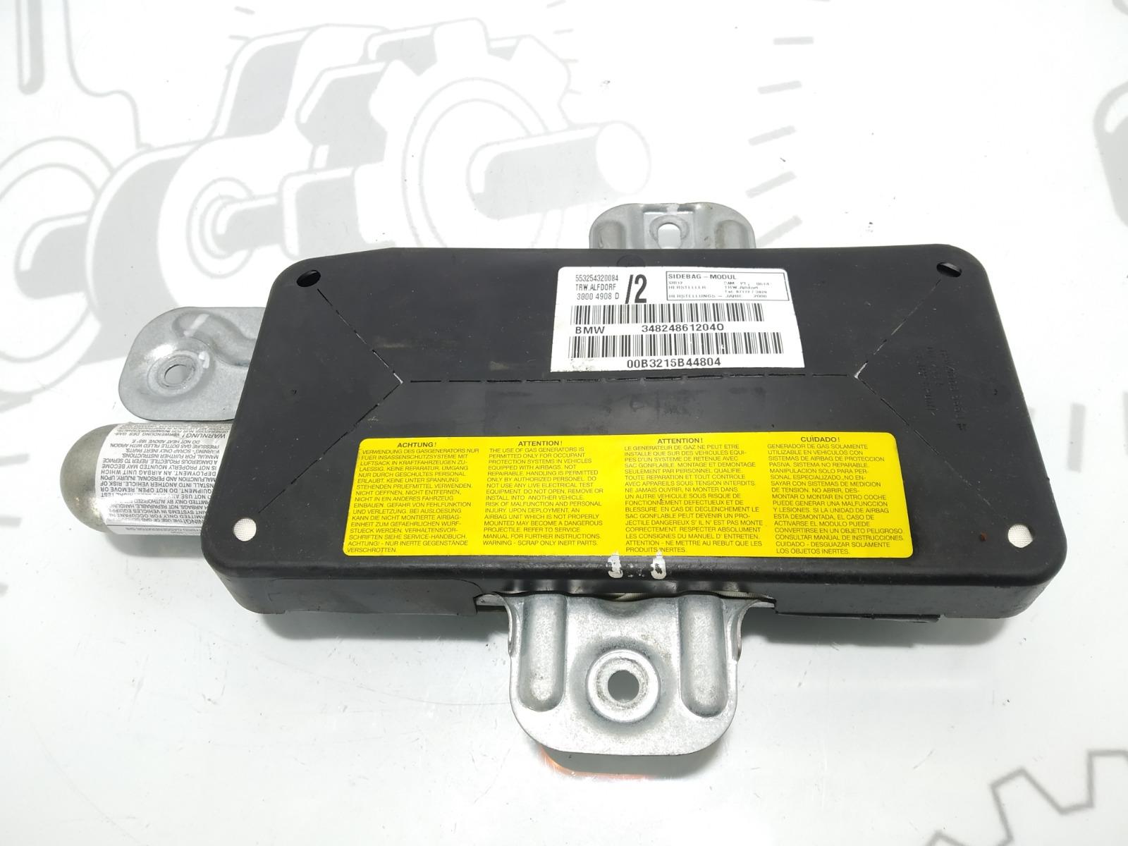 Подушка безопасности боковая (в дверь) Bmw X5 E53 4.4 I 2001 (б/у)