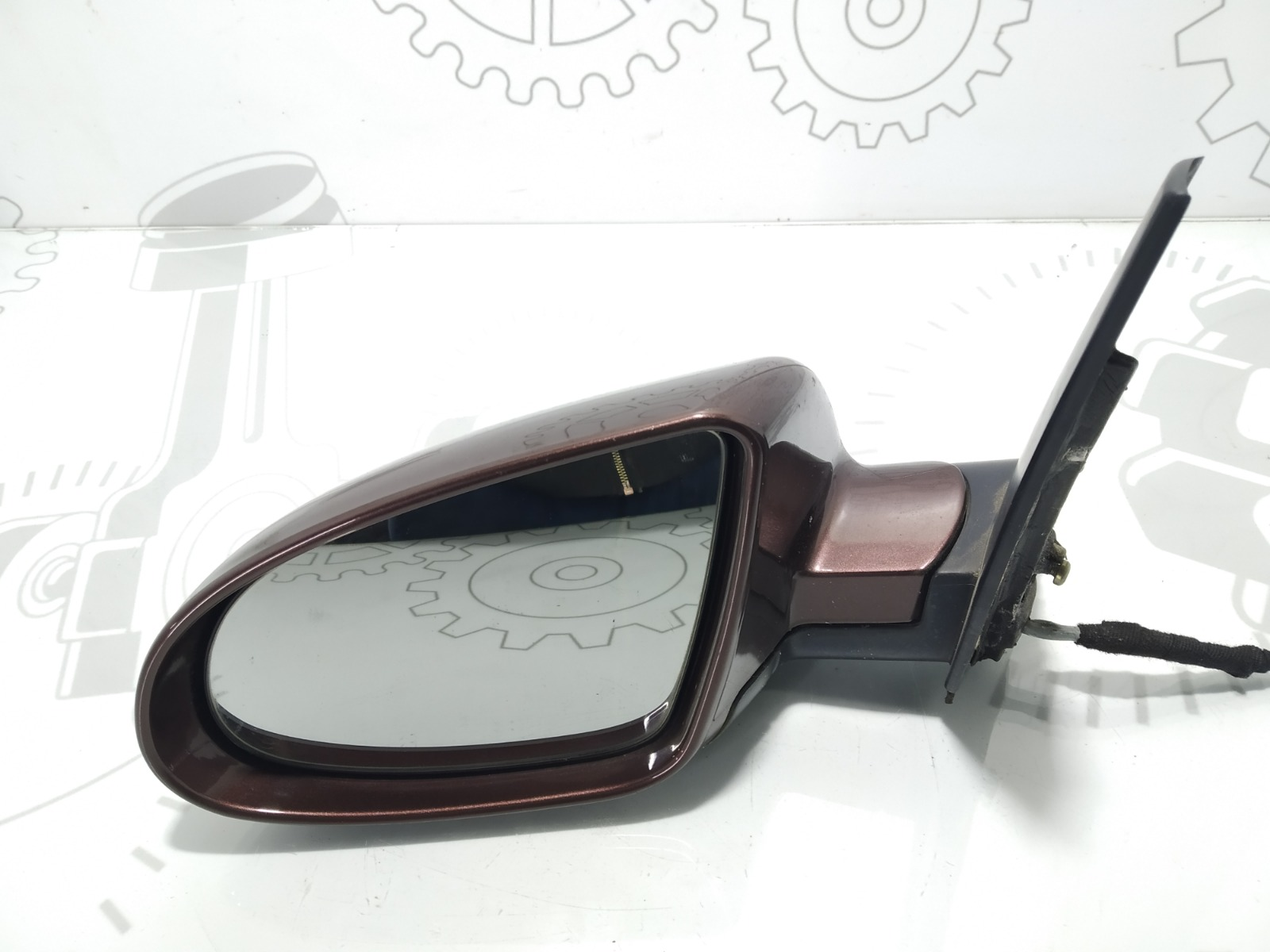 Зеркало наружное левое Audi A2 8Z 1.6 FSI 2002 (б/у)