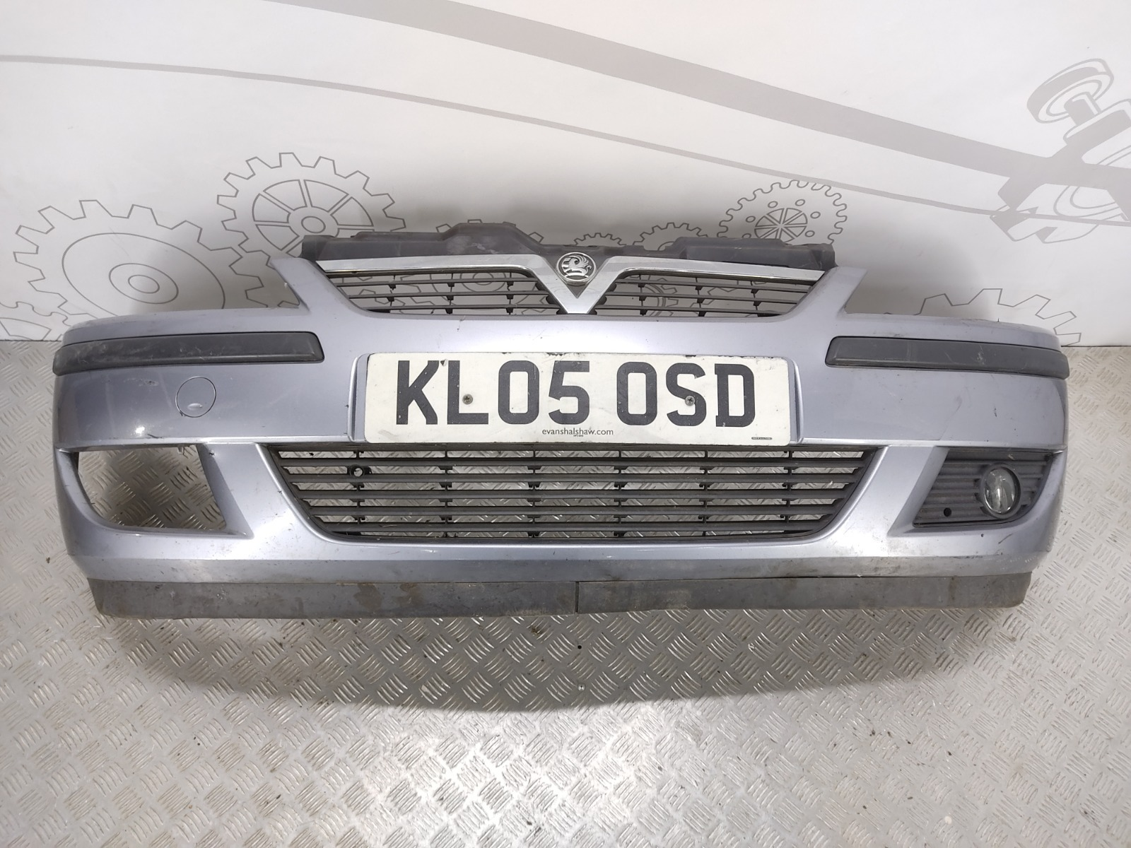 Бампер передний Opel Corsa C 1.3 CDTI 2005 (б/у)