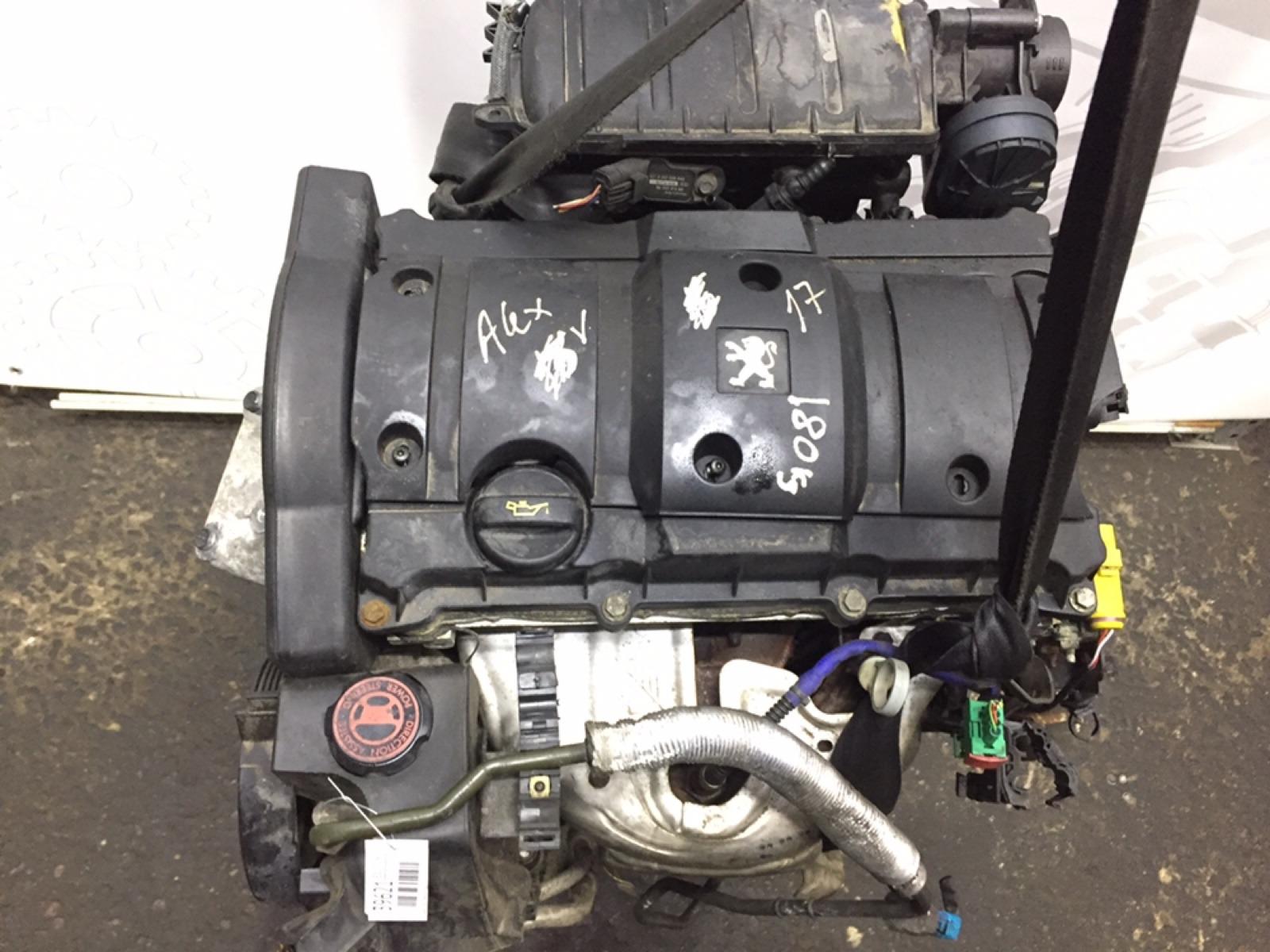 Двигатель бензиновый Peugeot 206 1.6 I 2005 (б/у)