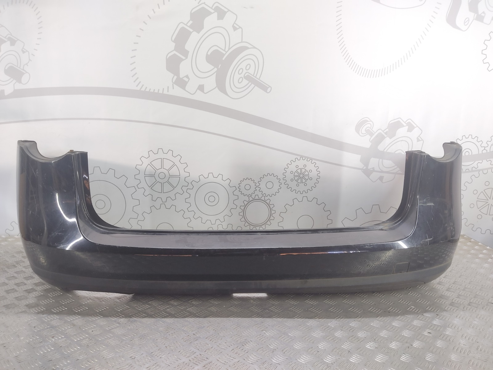 Бампер задний Volkswagen Passat B6 2.0 TDI 2007 (б/у)
