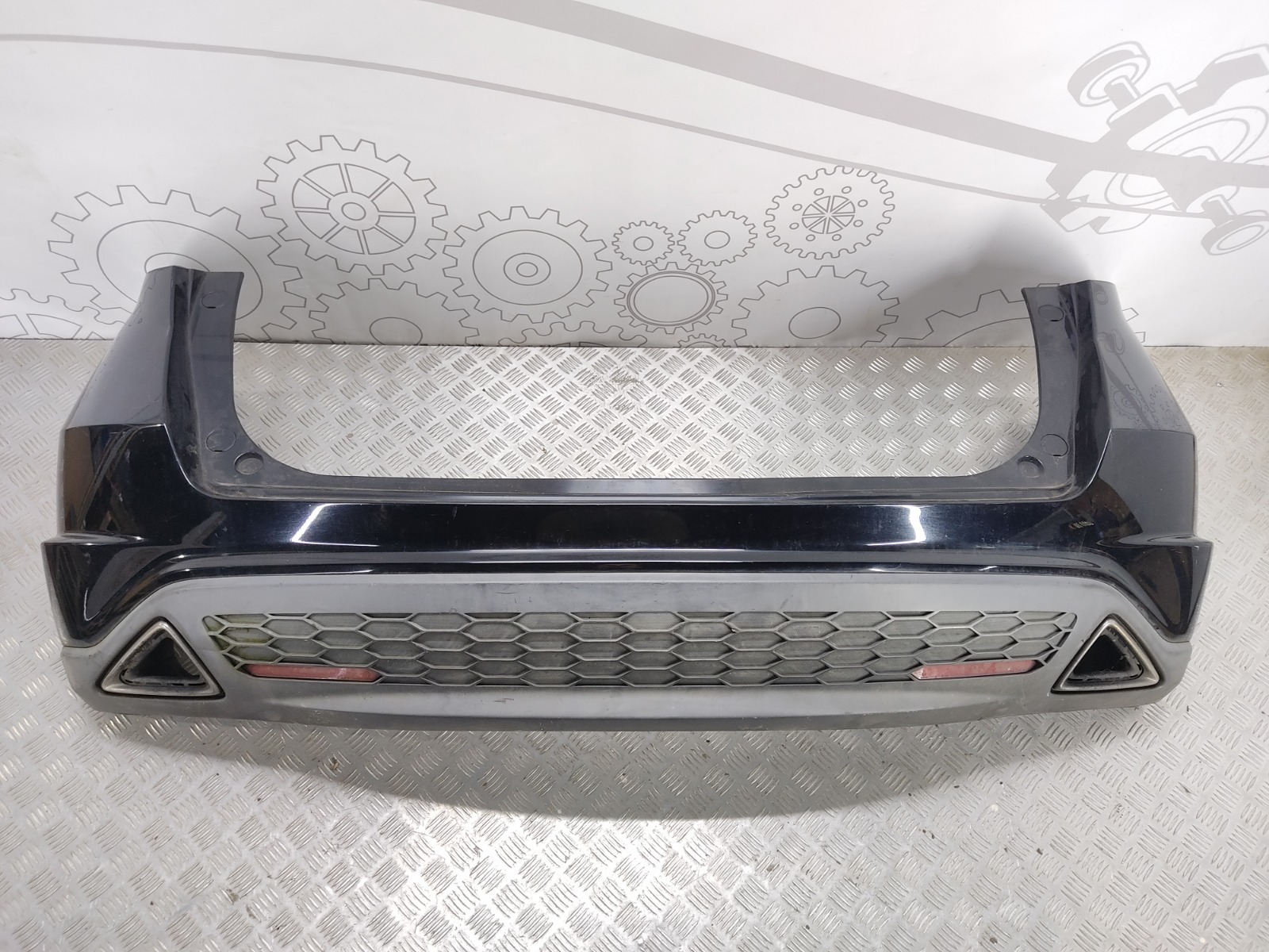 Бампер задний Honda Civic 2.2 CTDI 2006 (б/у)