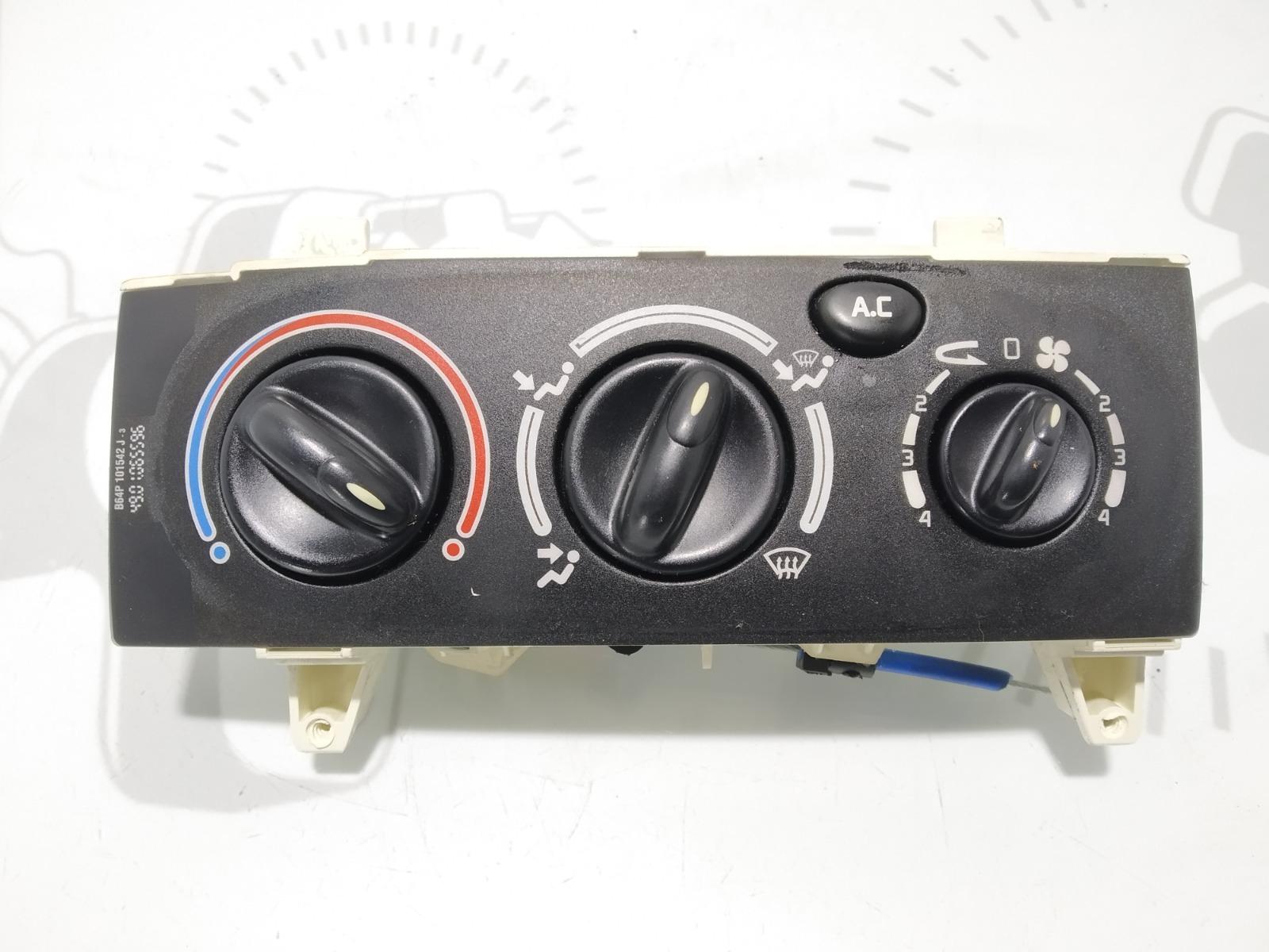 Блок управления печки/климат-контроля Renault Megane 1.9 DCI 2002 (б/у)