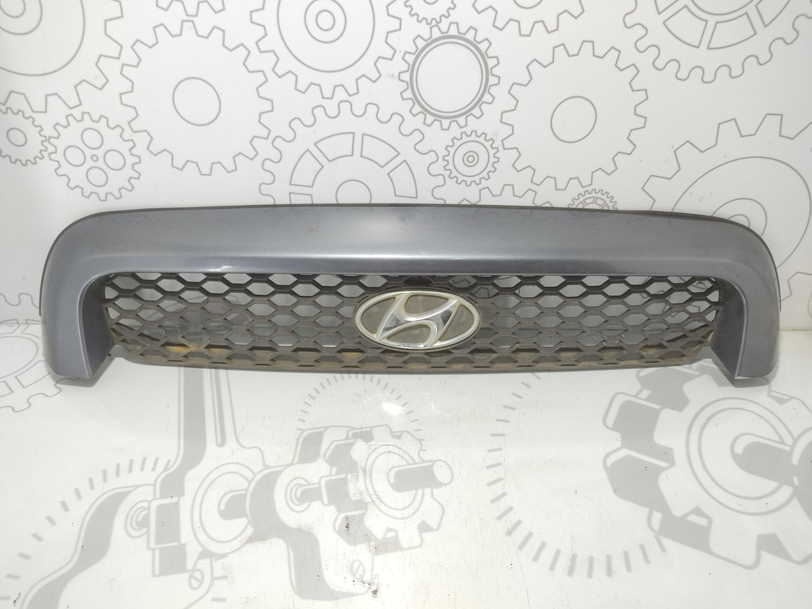 Решетка радиатора Hyundai Santa Fe 2.0 CRDI 2003 (б/у)