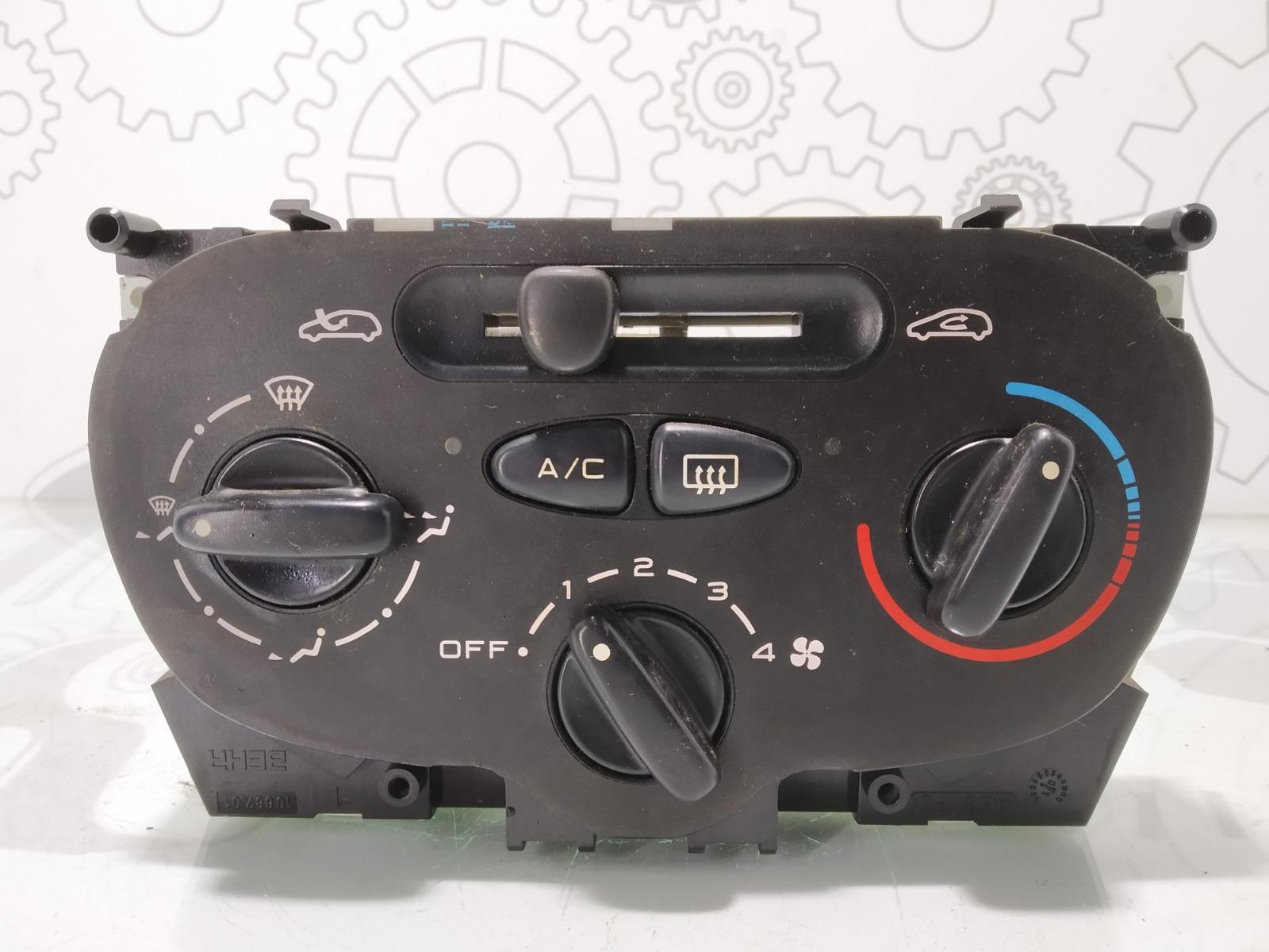 Блок управления печки/климат-контроля Peugeot 206 1.4 I 2002 (б/у)