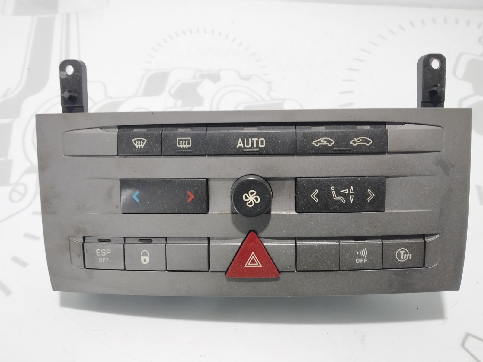 Блок управления печки/климат-контроля Citroen C5 1.6 HDI 2004 (б/у)