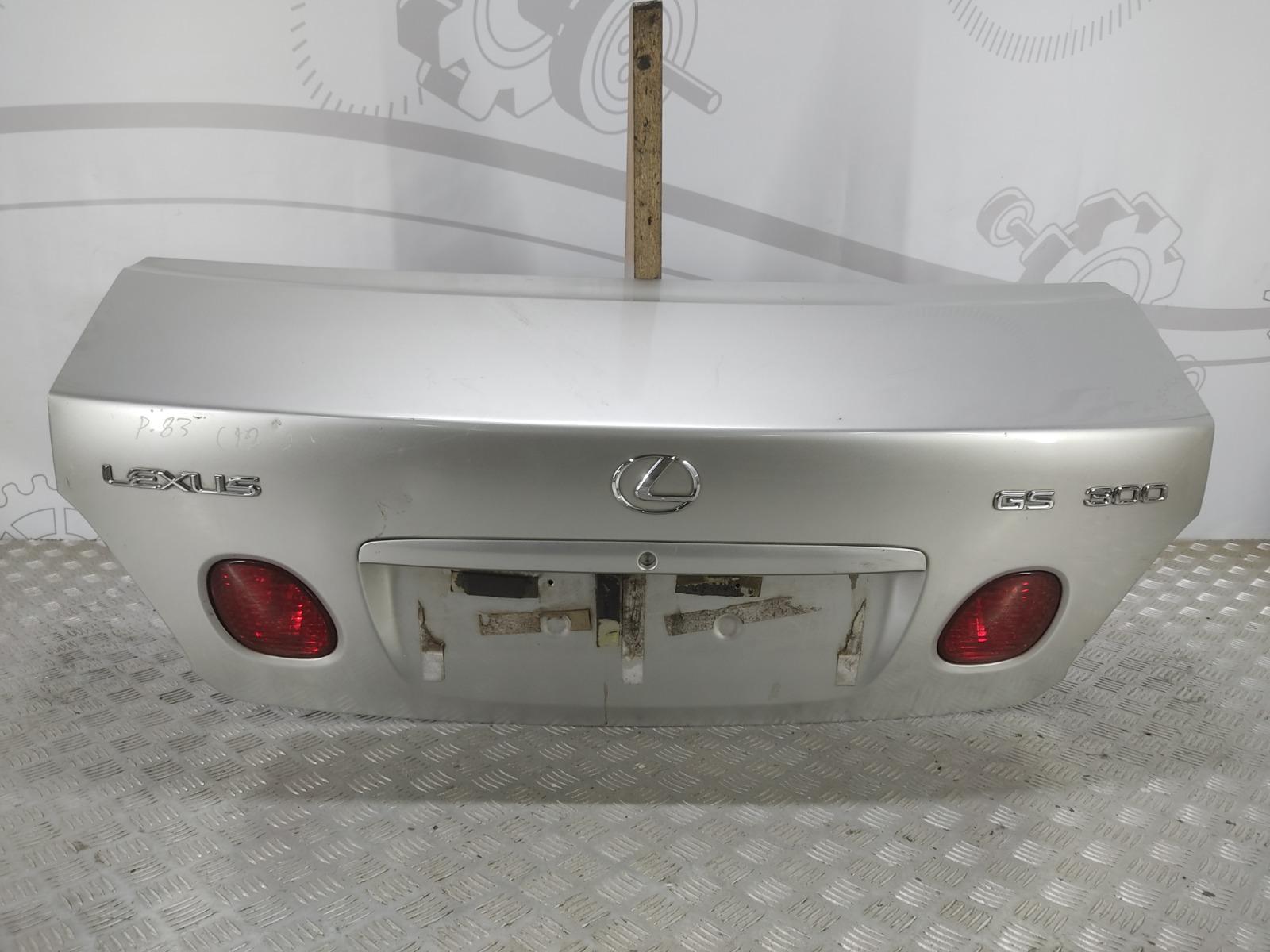 Крышка багажника (дверь 3-5) Lexus Gs 3.0 I 2000 (б/у)