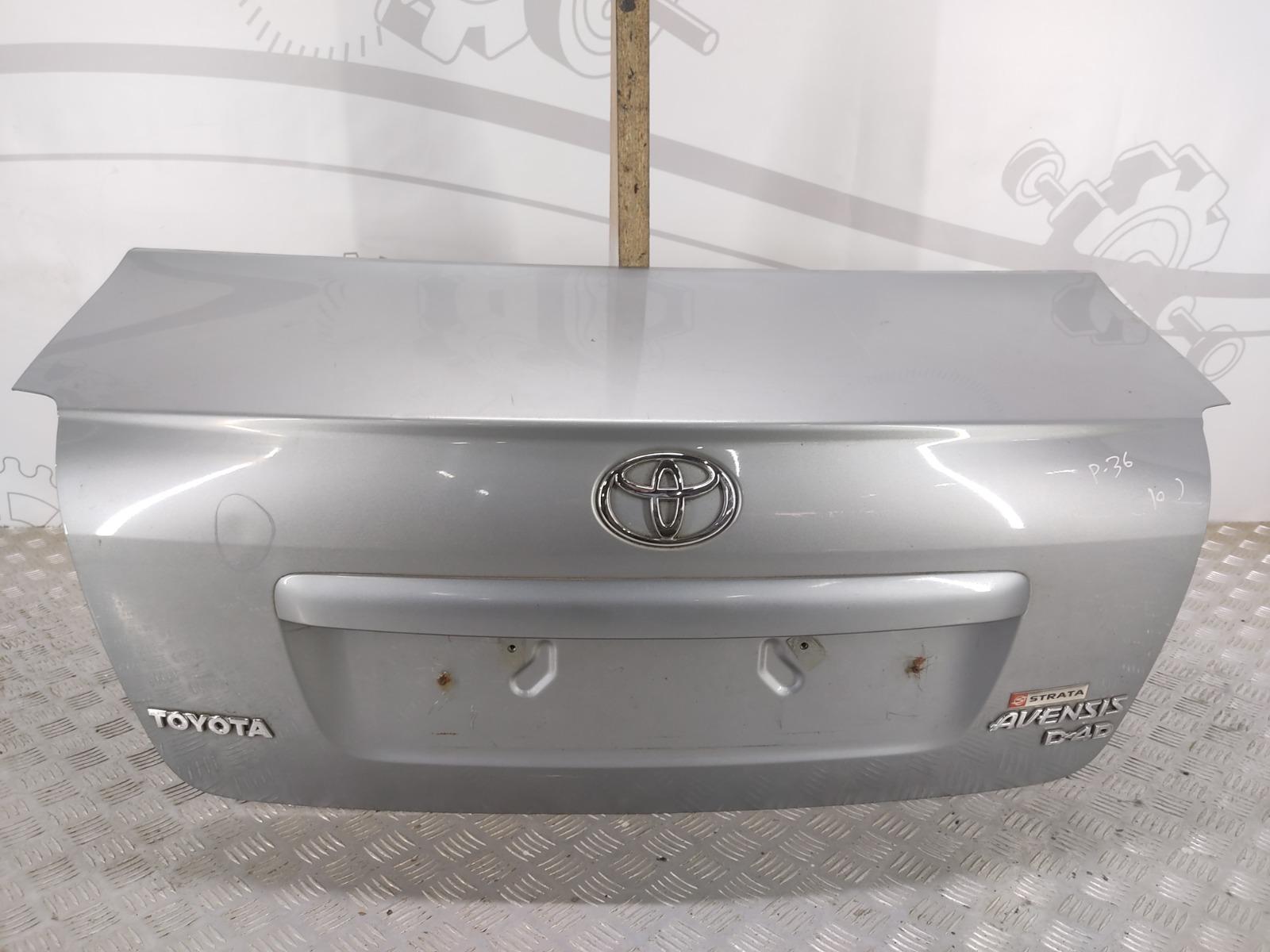 Крышка багажника (дверь 3-5) Toyota Avensis 2.0 D-4D 2009 (б/у)
