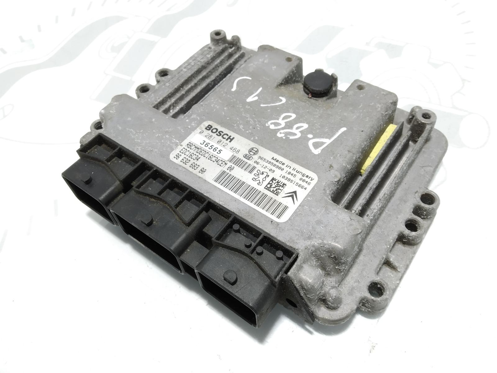 Блок управления двигателем Citroen Xsara Picasso 1.6 HDI 2007 (б/у)