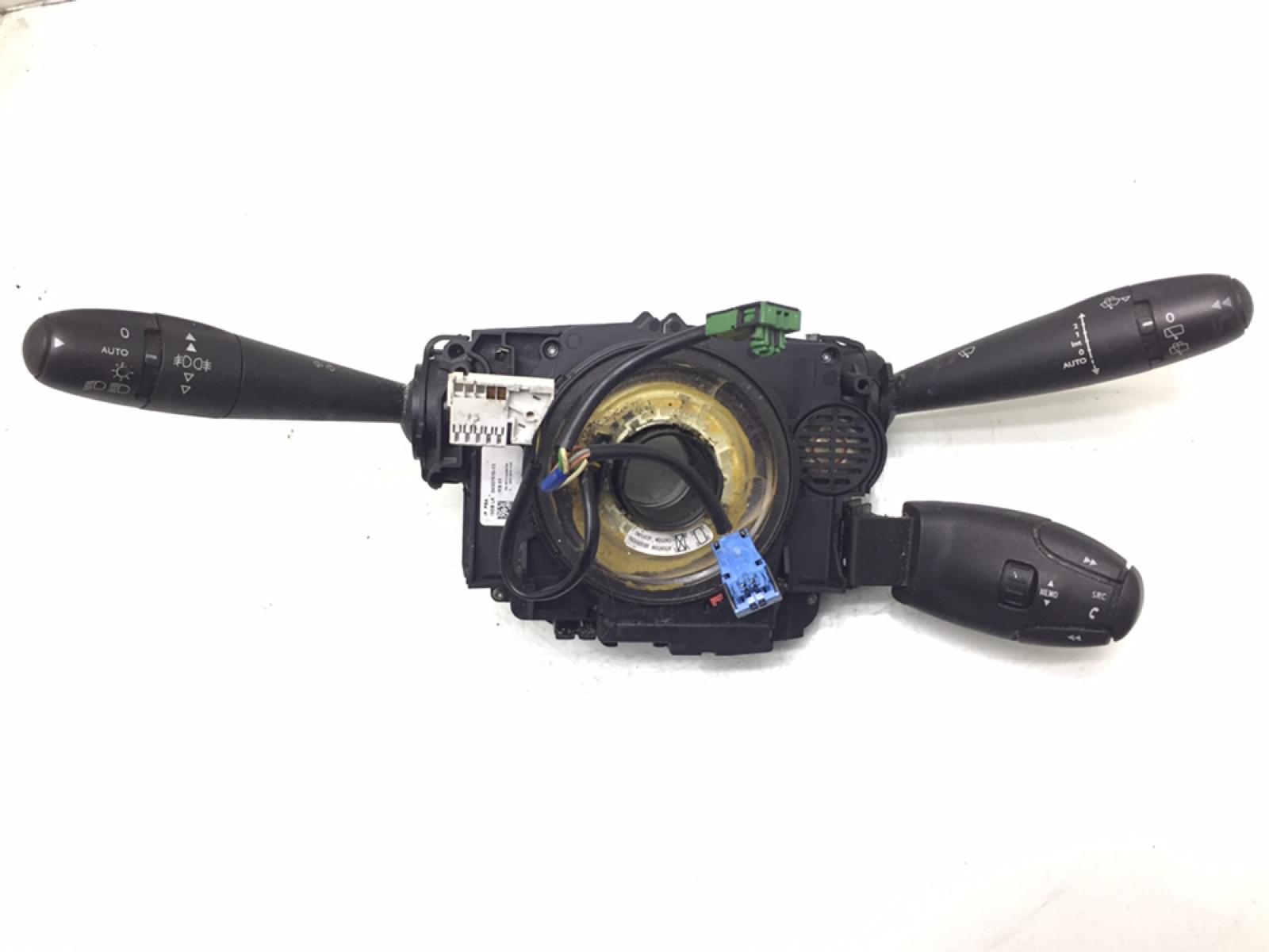 Переключатель подрулевой (стрекоза) Peugeot 407 2.0 HDI 2010 (б/у)