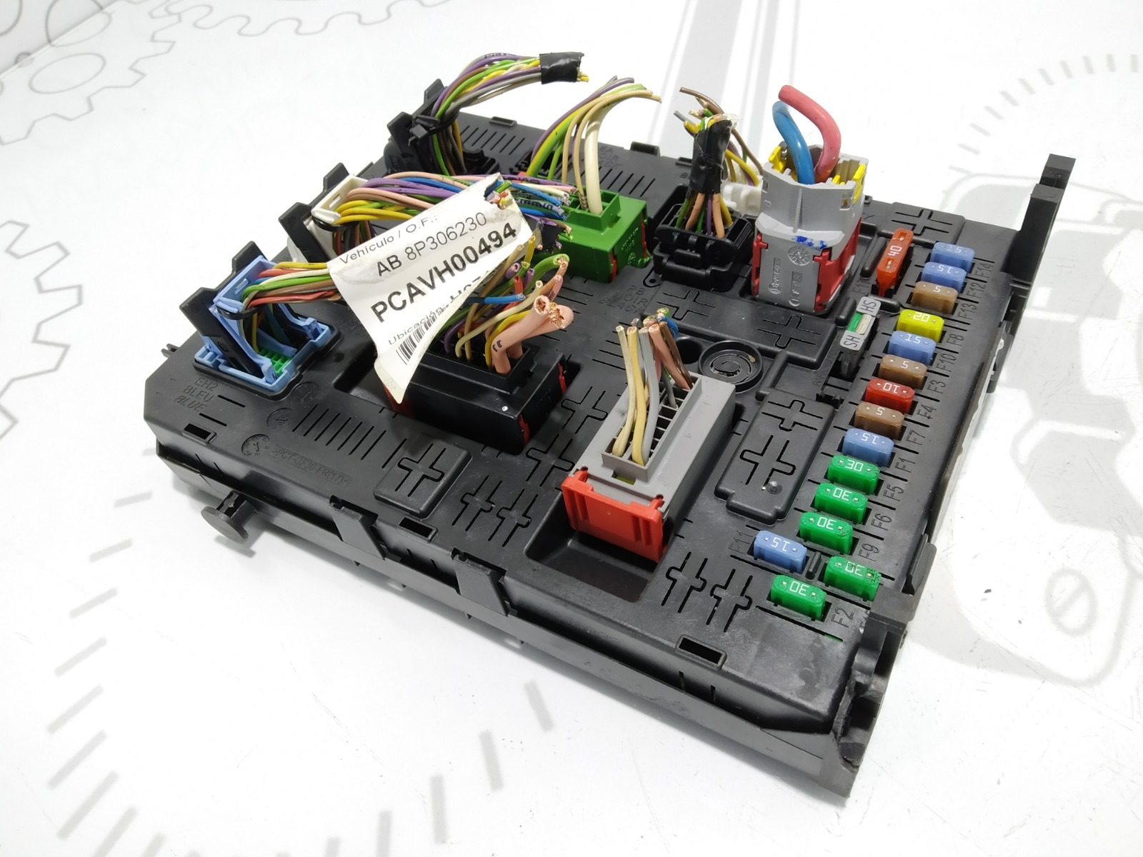 Блок комфорта Citroen C4 Grand Picasso 1.6 HDI 2009 (б/у)