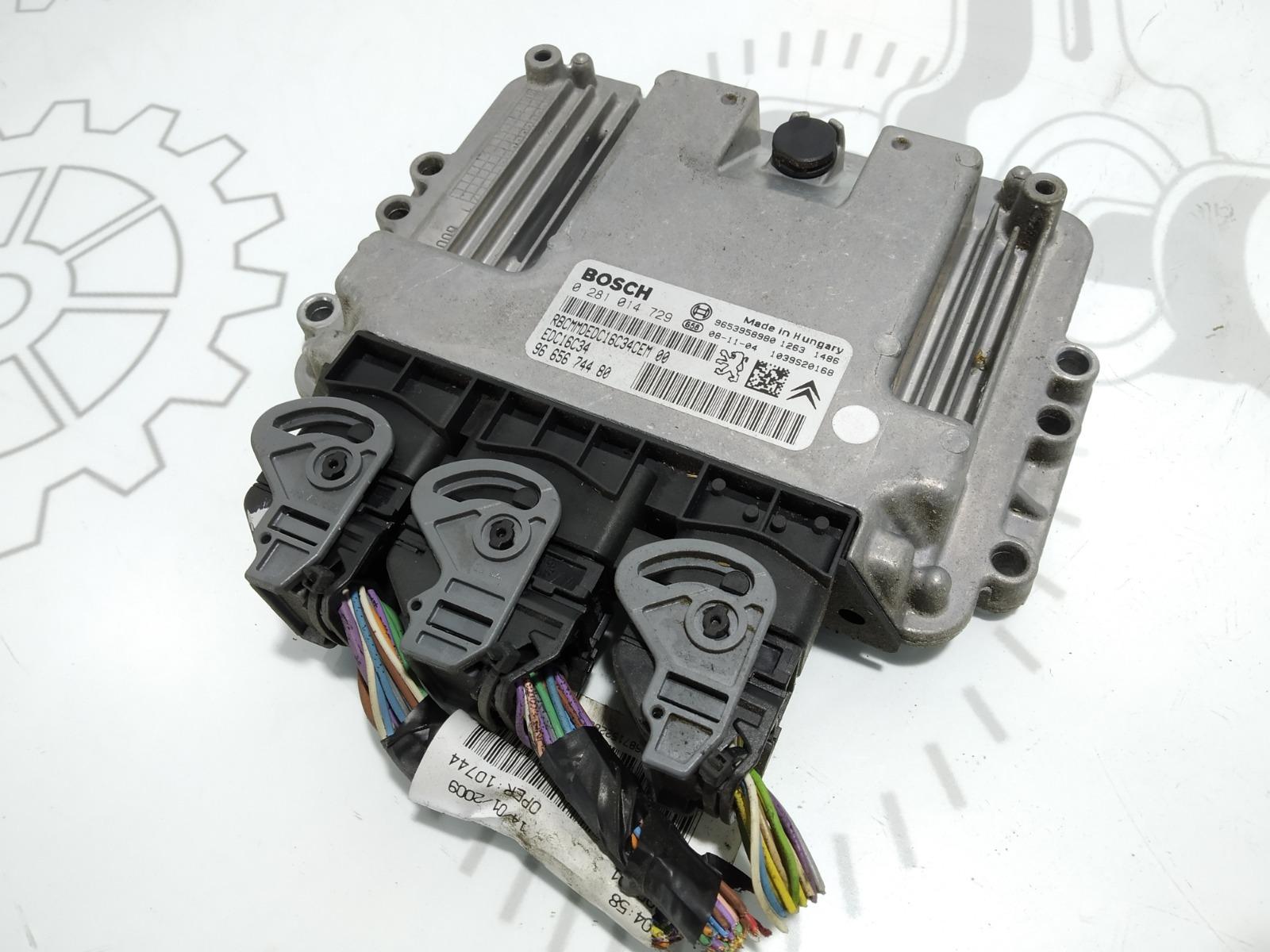 Блок управления двигателем Citroen C4 Grand Picasso 1.6 HDI 2009 (б/у)