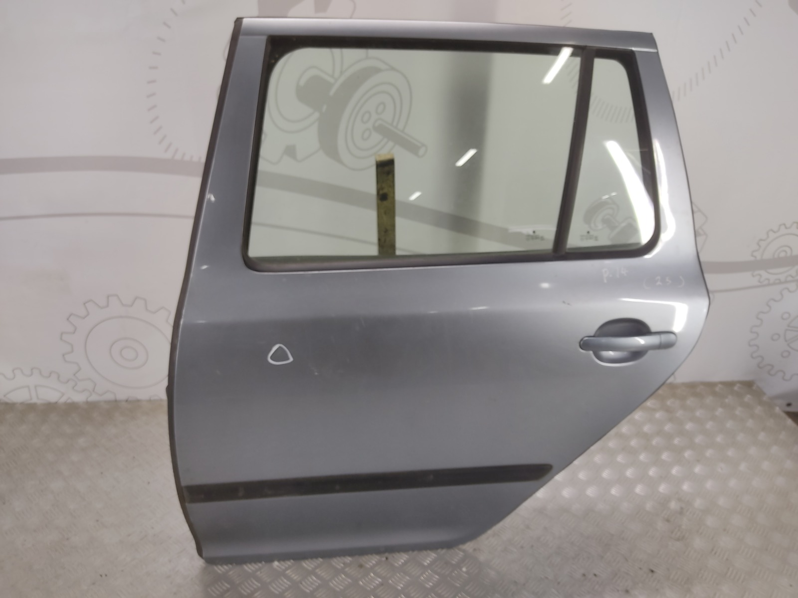 Дверь задняя левая Skoda Octavia 1.9 TDI 2005 (б/у)