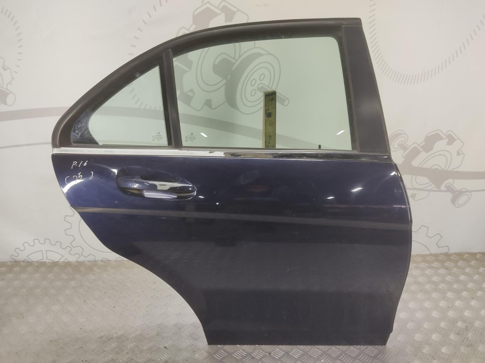 Дверь задняя правая Mercedes C W204 2.2 CDI 2007 (б/у)