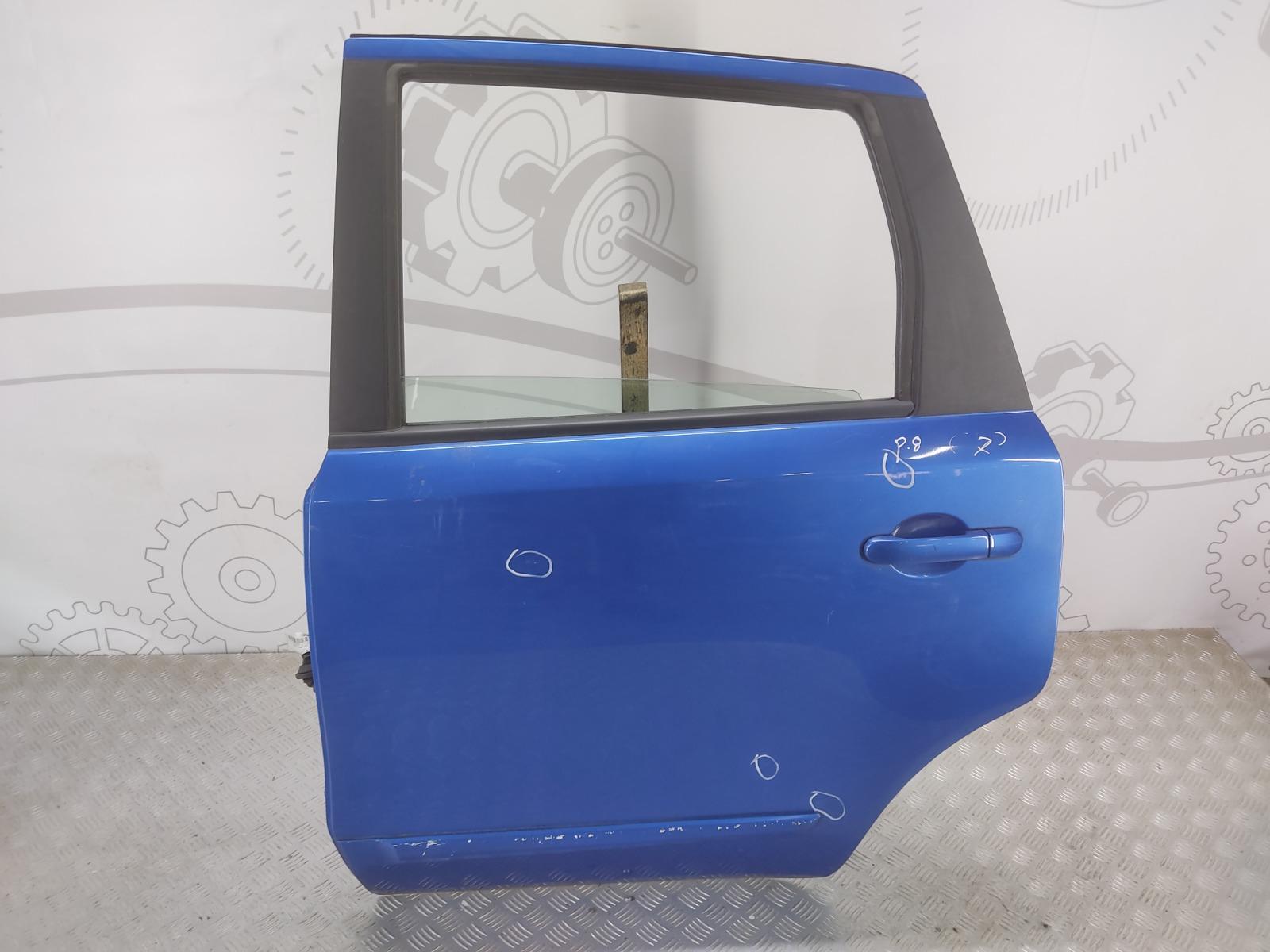 Дверь задняя левая Nissan Note E11 1.5 DCI 2009 (б/у)
