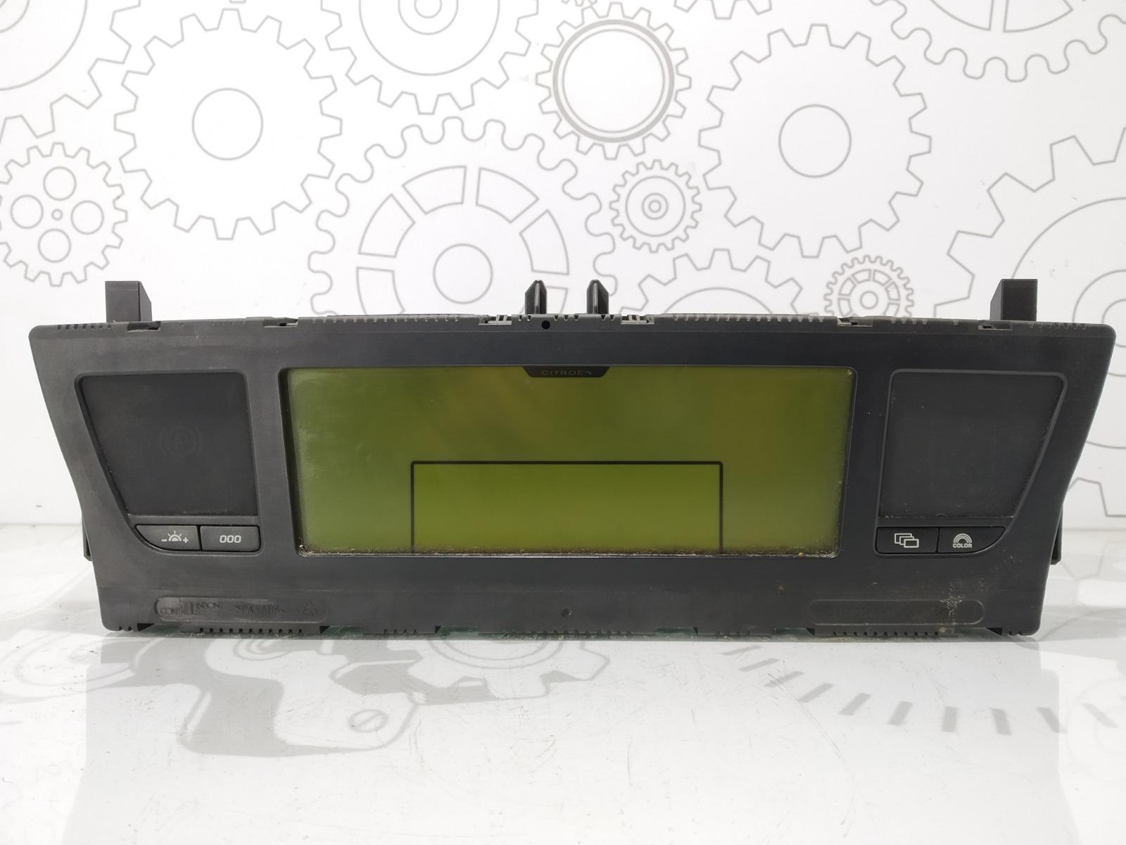 Щиток приборов (приборная панель) Citroen C4 Grand Picasso 1.6 HDI 2009 (б/у)