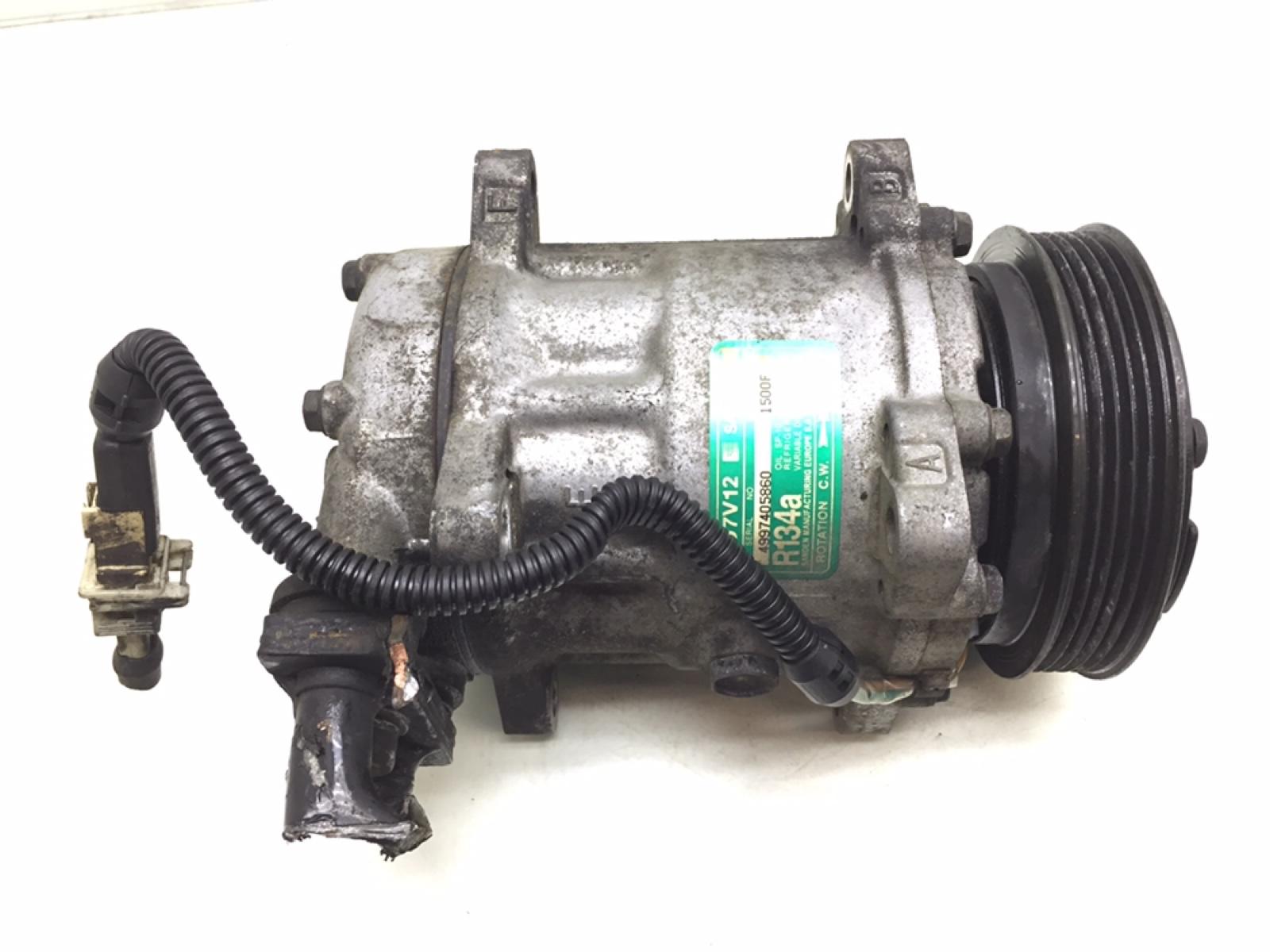 Компрессор кондиционера Peugeot 306 1.6 I 1998 (б/у)