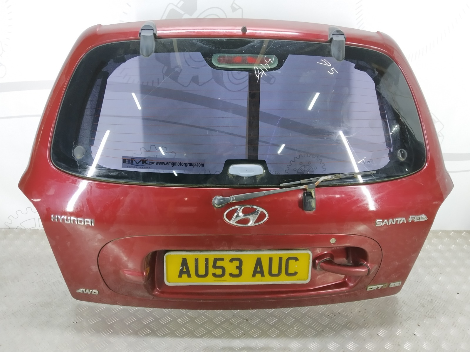 Крышка багажника (дверь 3-5) Hyundai Santa Fe 2.0 CRDI 2003 (б/у)