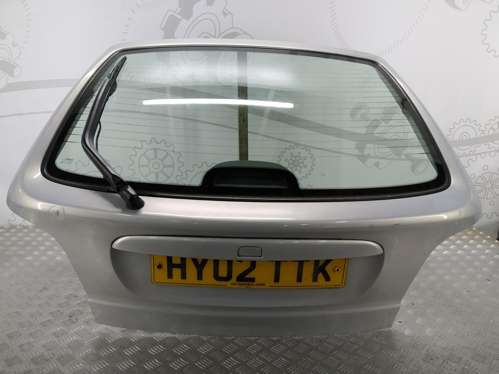 Крышка багажника (дверь 3-5) Renault Megane 1.9 DCI 2002 (б/у)