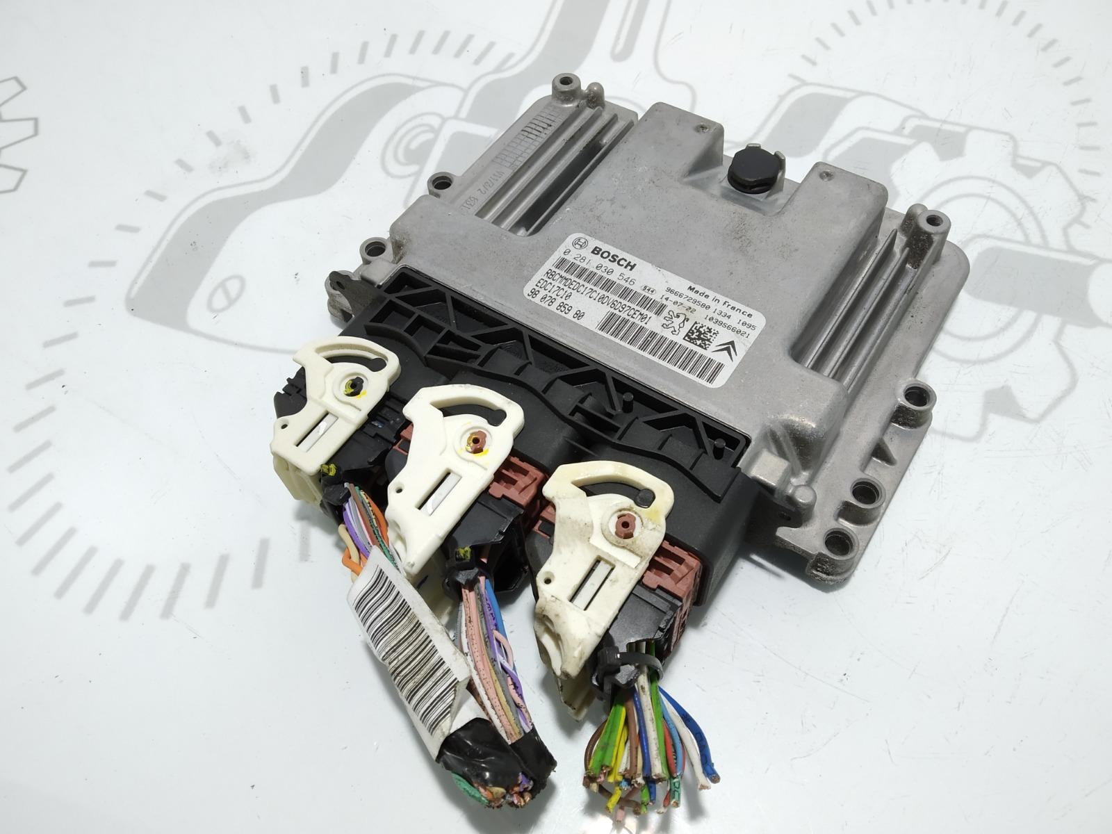 Блок управления двигателем Citroen Berlingo 1.6 HDI 2014 (б/у)