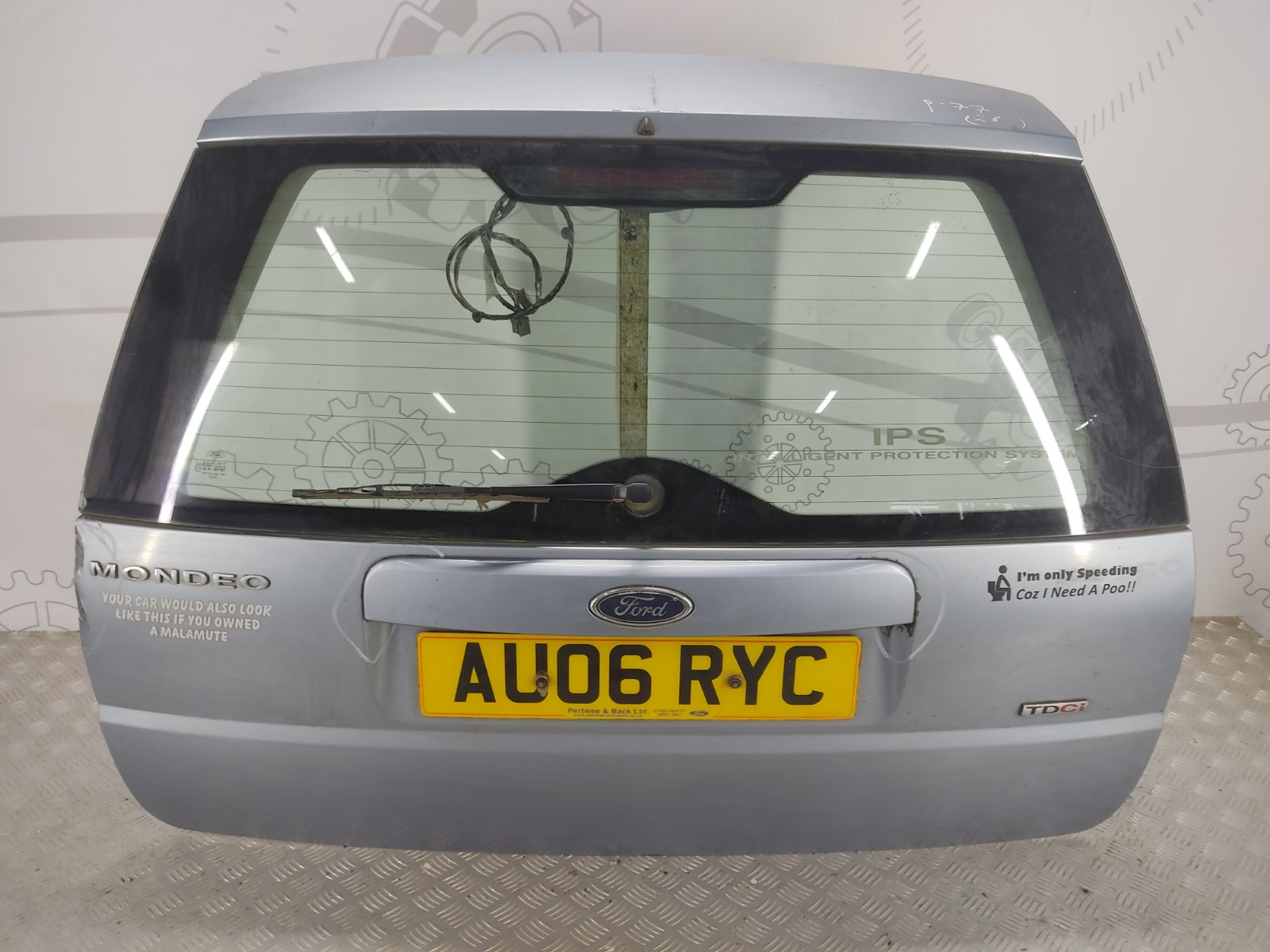 Крышка багажника (дверь 3-5) Ford Mondeo 2.0 TDCI 2006 (б/у)