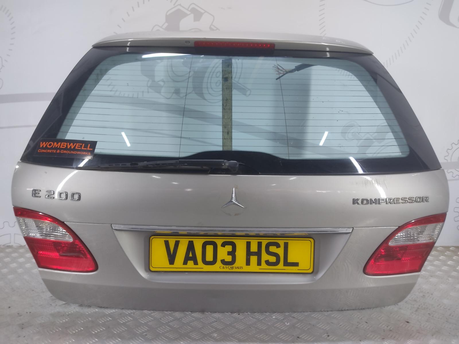 Крышка багажника (дверь 3-5) Mercedes E W211 1.8 I 2003 (б/у)