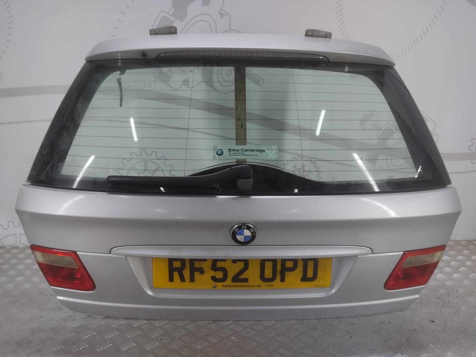 Крышка багажника (дверь 3-5) Bmw 3 E46 2.0 I 2002 (б/у)