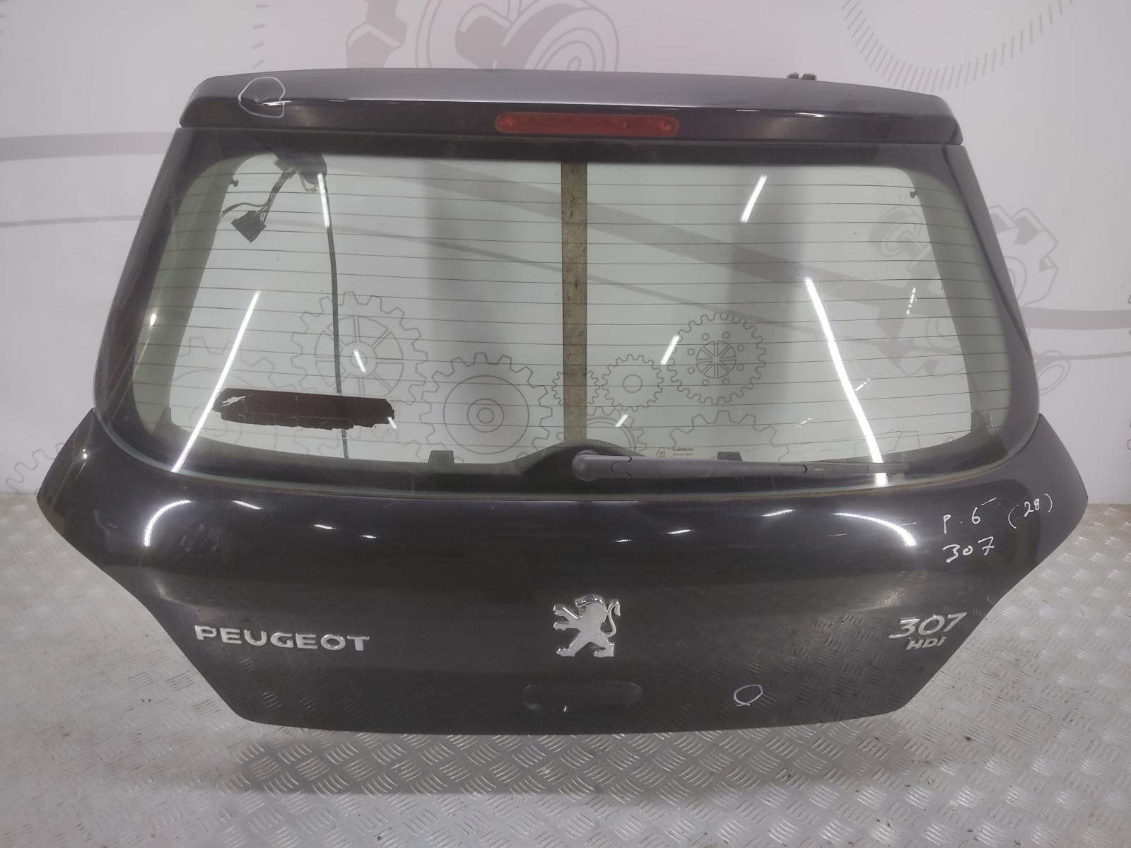 Крышка багажника (дверь 3-5) Peugeot 307 1.6 HDI 2005 (б/у)