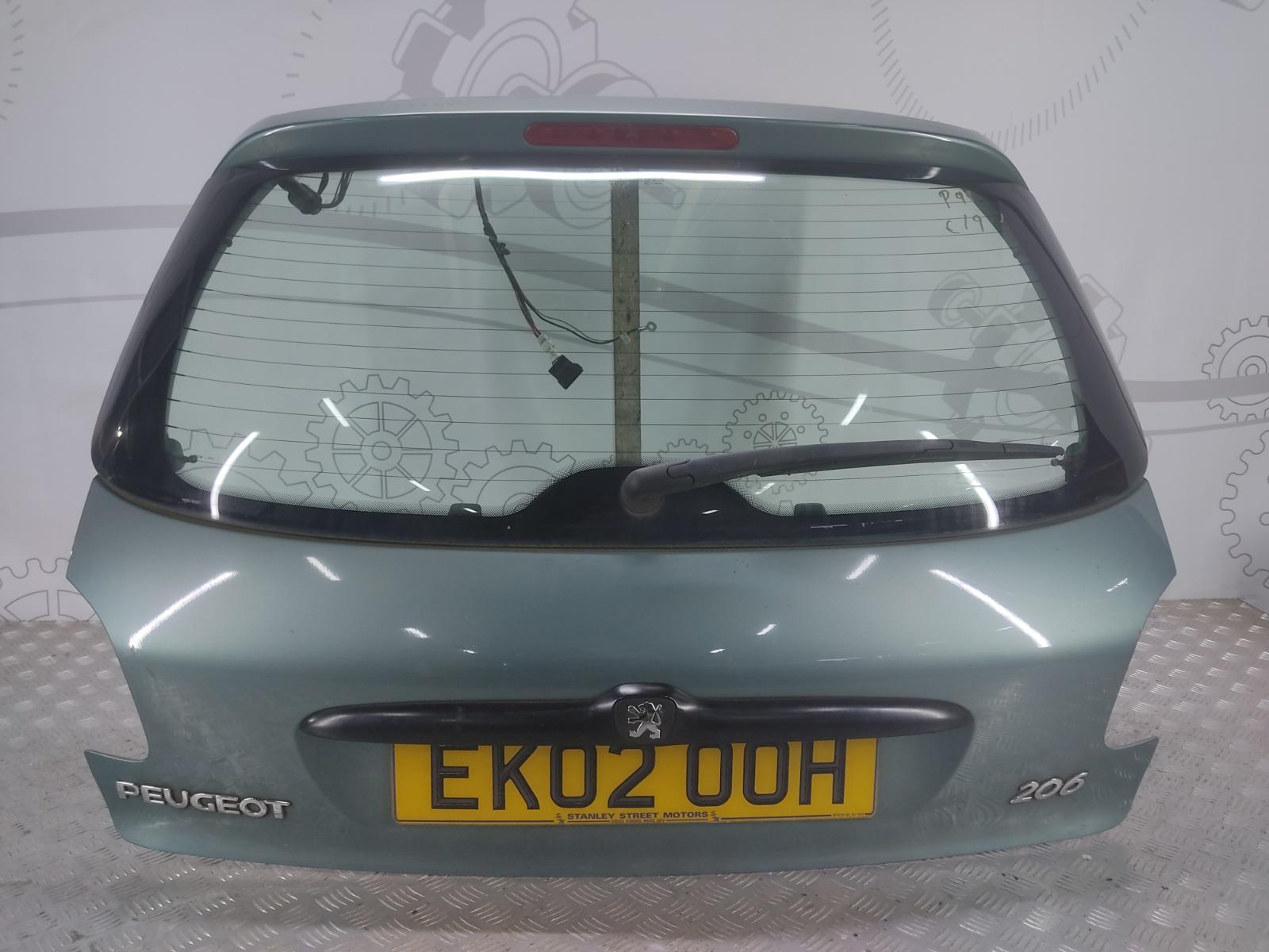 Крышка багажника (дверь 3-5) Peugeot 206 1.4 I 2002 (б/у)