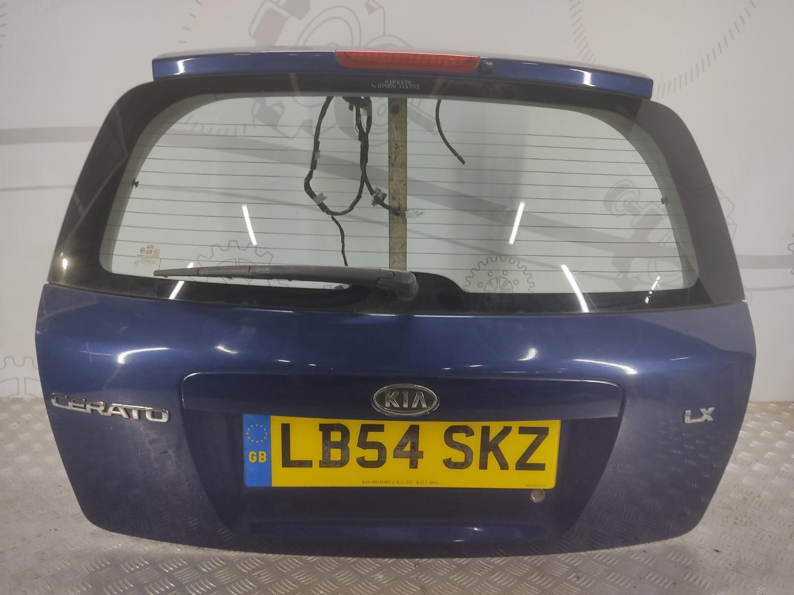 Крышка багажника (дверь 3-5) Kia Cerato 1.6 I 2004 (б/у)