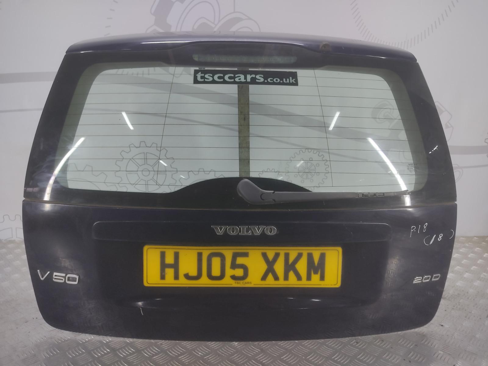 Крышка багажника (дверь 3-5) Volvo V50 2.0 TD 2005 (б/у)