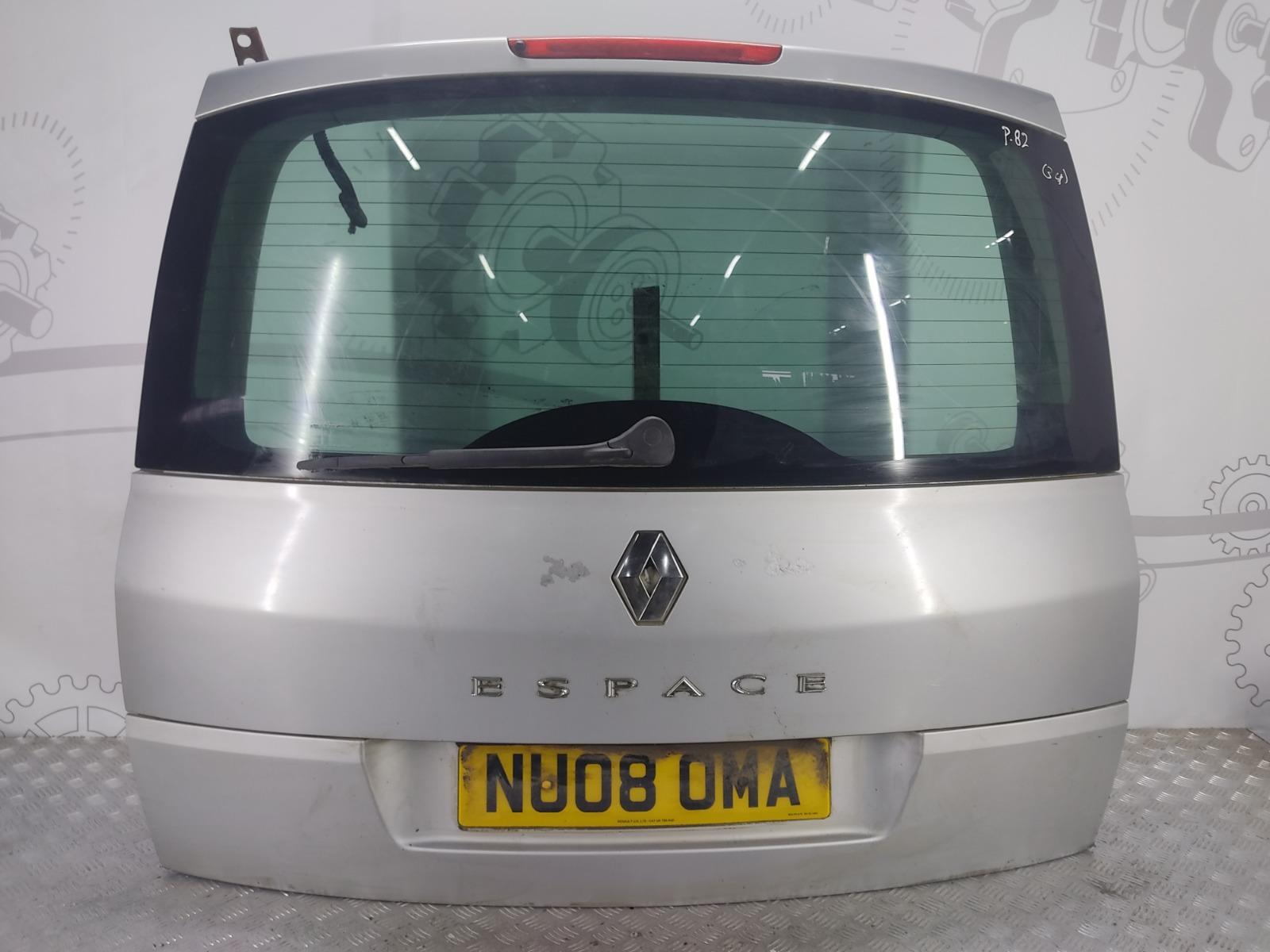 Крышка багажника (дверь 3-5) Renault Grand Espace 2.0 DCI 2008 (б/у)