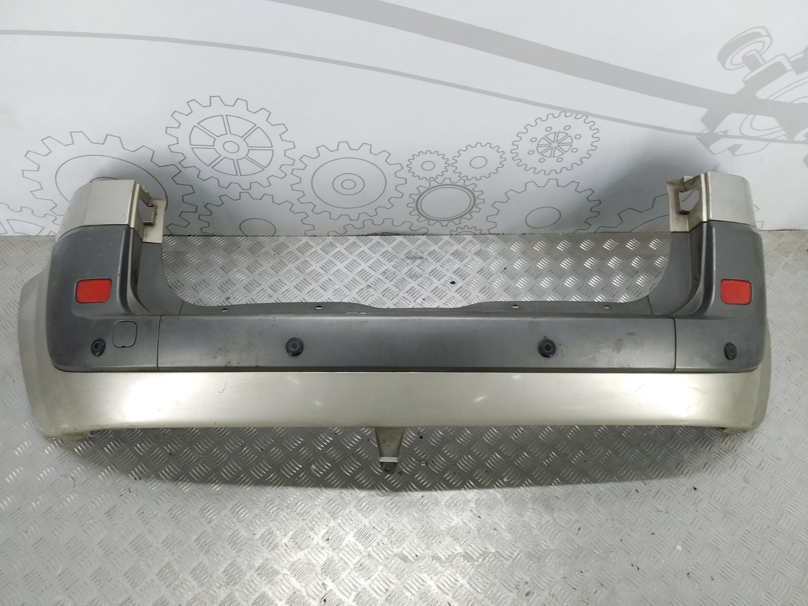 Бампер задний Renault Scenic 1.9 DCI 2007 (б/у)