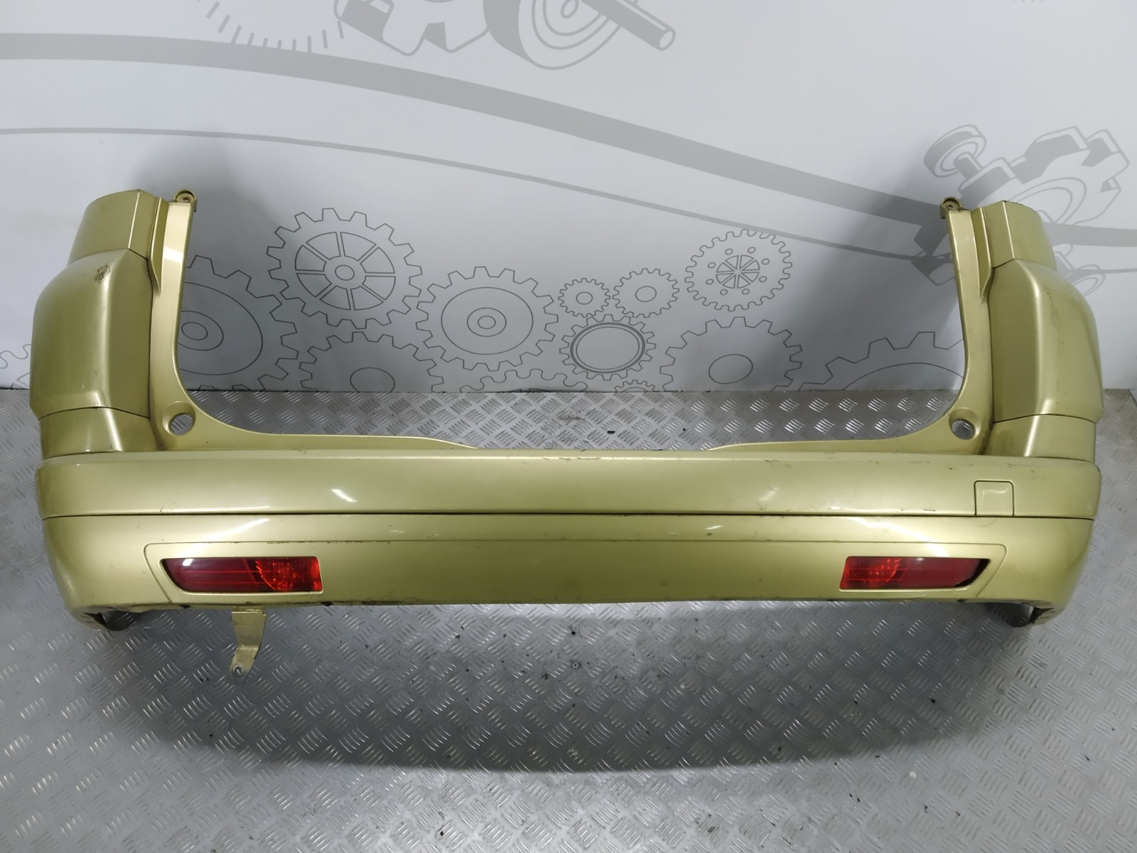 Бампер задний Citroen C4 Grand Picasso 1.6 HDI 2009 (б/у)