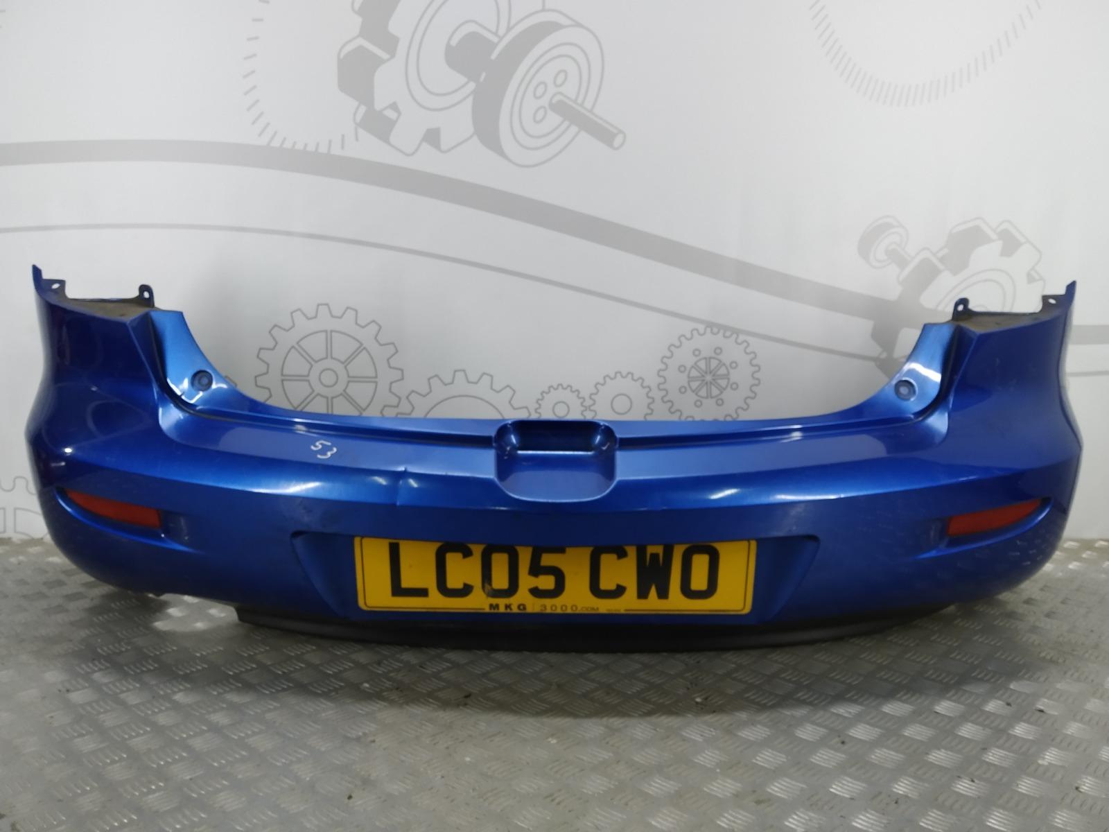 Бампер задний Mazda 3 BK 1.6 I 2005 (б/у)