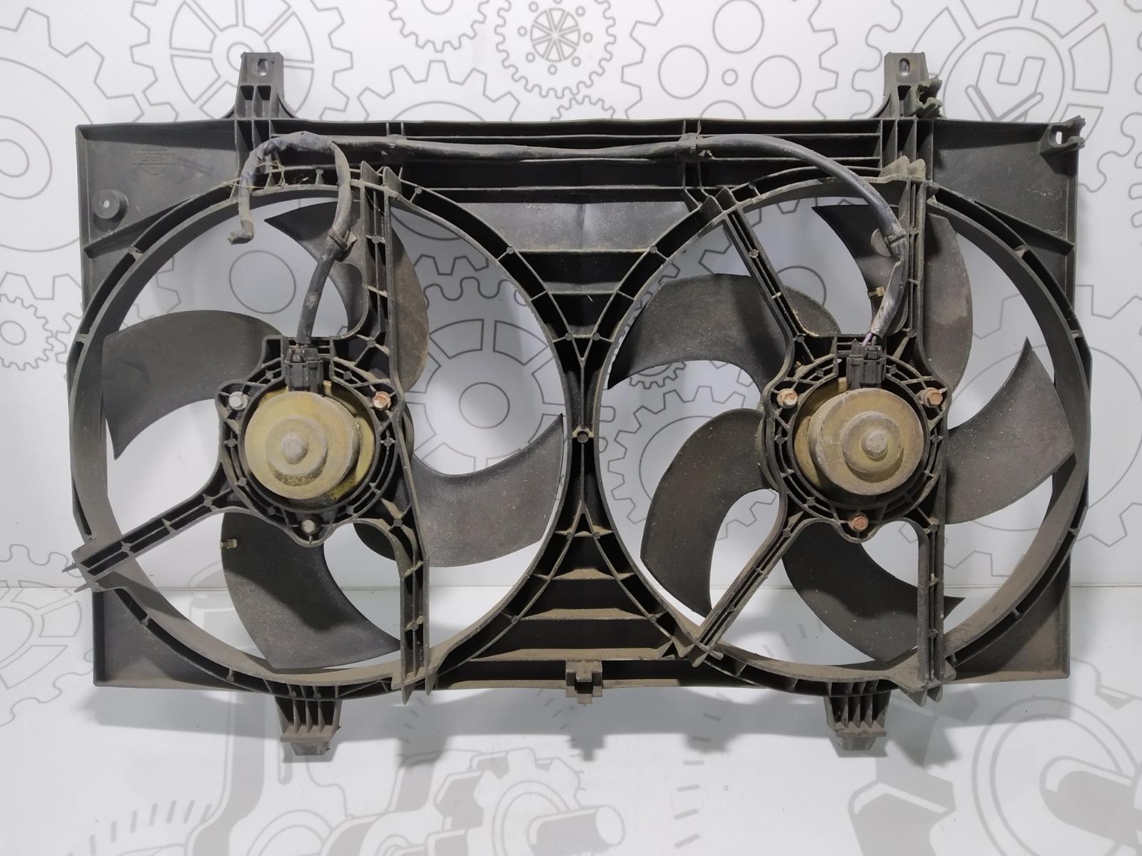 Вентилятор радиатора Nissan Almera Tino 1.8 I 2005 (б/у)